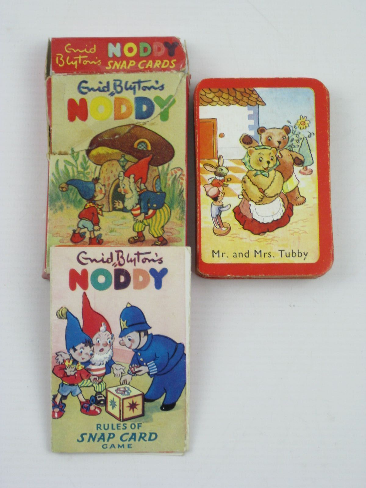 Photo of ENID BLYTON'S NODDY SNAP CARDS