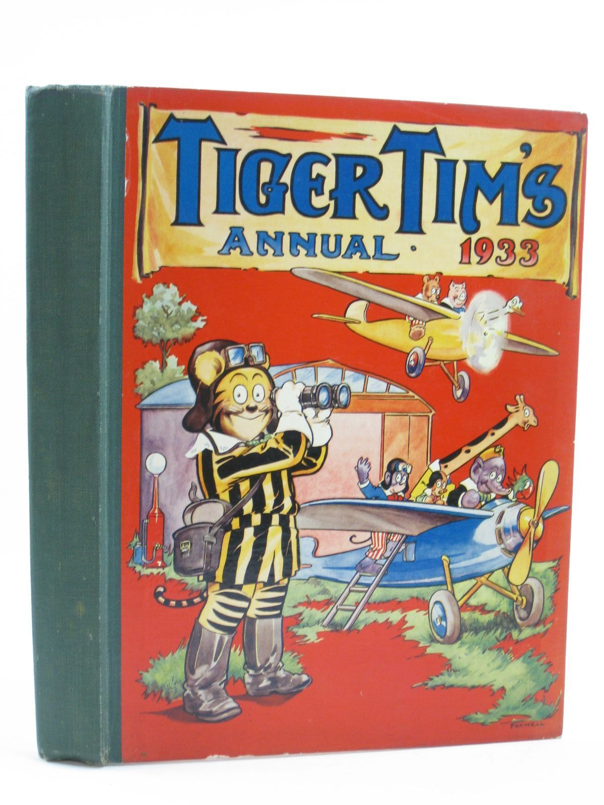 Photo of TIGER TIM'S ANNUAL 1933 illustrated by Foxwell, Herbert<br />et al., published by The Amalgamated Press (STOCK CODE: 1507149)  for sale by Stella & Rose's Books