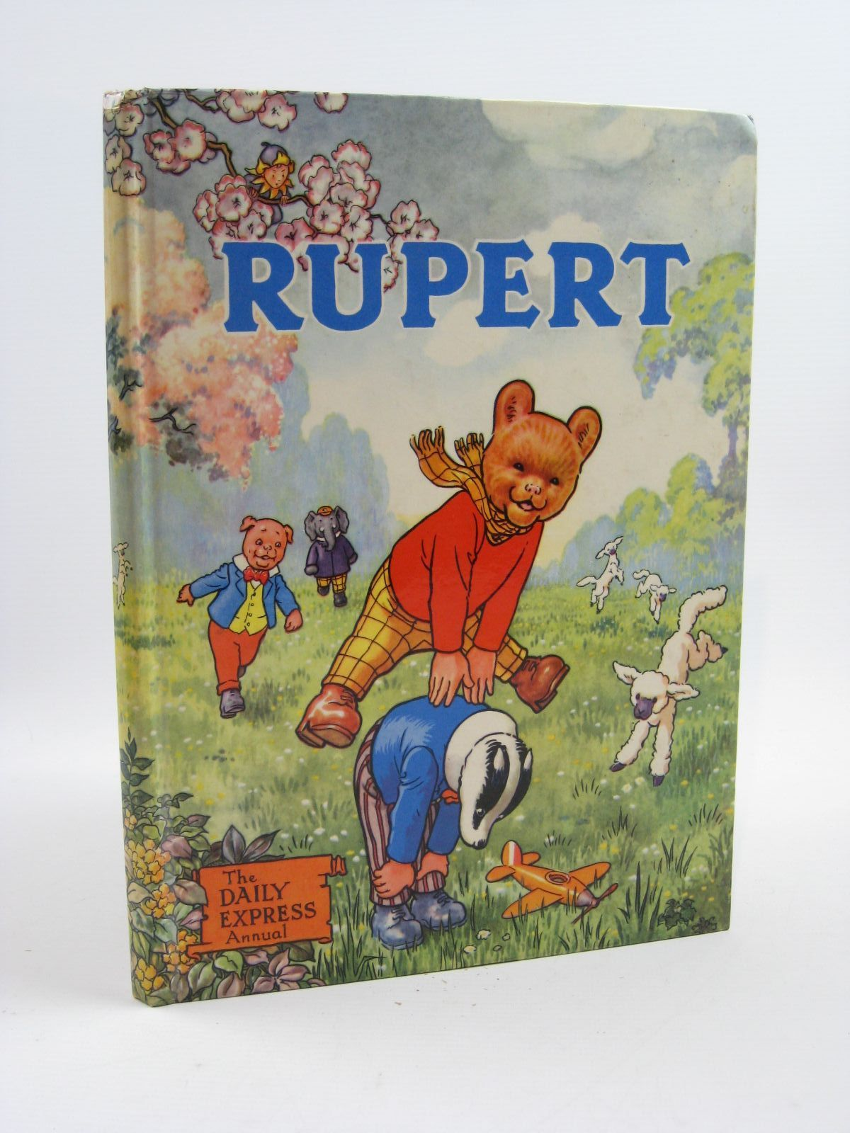 Photo of RUPERT ANNUAL 1958 written by Bestall, Alfred illustrated by Bestall, Alfred published by Daily Express (STOCK CODE: 1507199)  for sale by Stella & Rose's Books