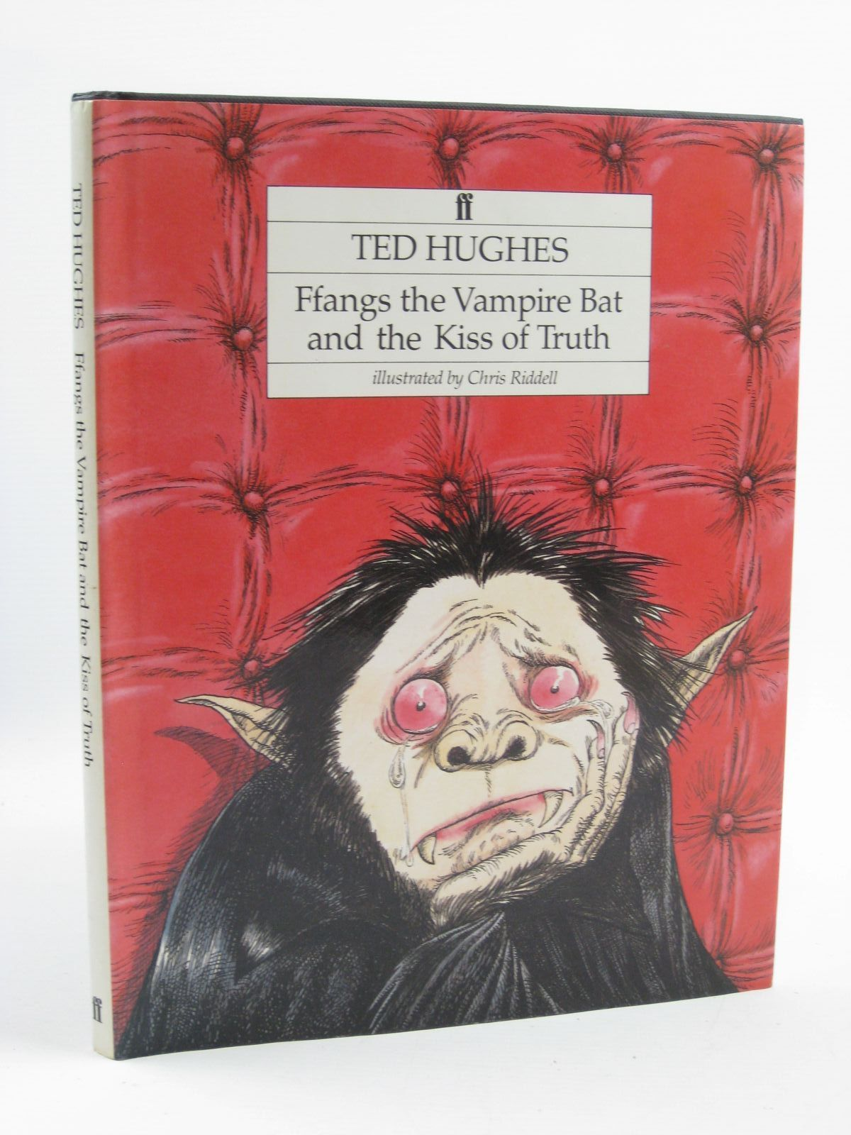 Photo of FFANGS THE VAMPIRE BAT AND THE KISS OF TRUTH written by Hughes, Ted illustrated by Riddell, Chris published by Faber & Faber (STOCK CODE: 1507203)  for sale by Stella & Rose's Books