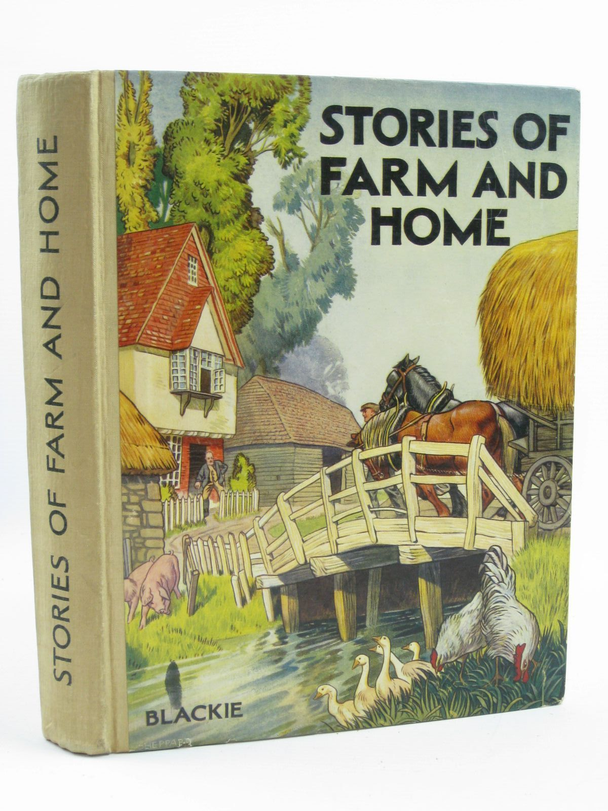 Photo of TALES OF FARM AND HOME written by Gould, Elizabeth<br />et al, illustrated by Butler, B.<br />Jacobs, Helen<br />et al., published by Blackie & Son Ltd. (STOCK CODE: 1507204)  for sale by Stella & Rose's Books
