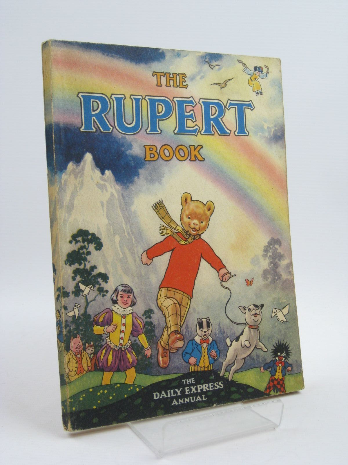 Photo of RUPERT ANNUAL 1948 - THE RUPERT BOOK written by Bestall, Alfred illustrated by Bestall, Alfred published by Daily Express (STOCK CODE: 1507208)  for sale by Stella & Rose's Books