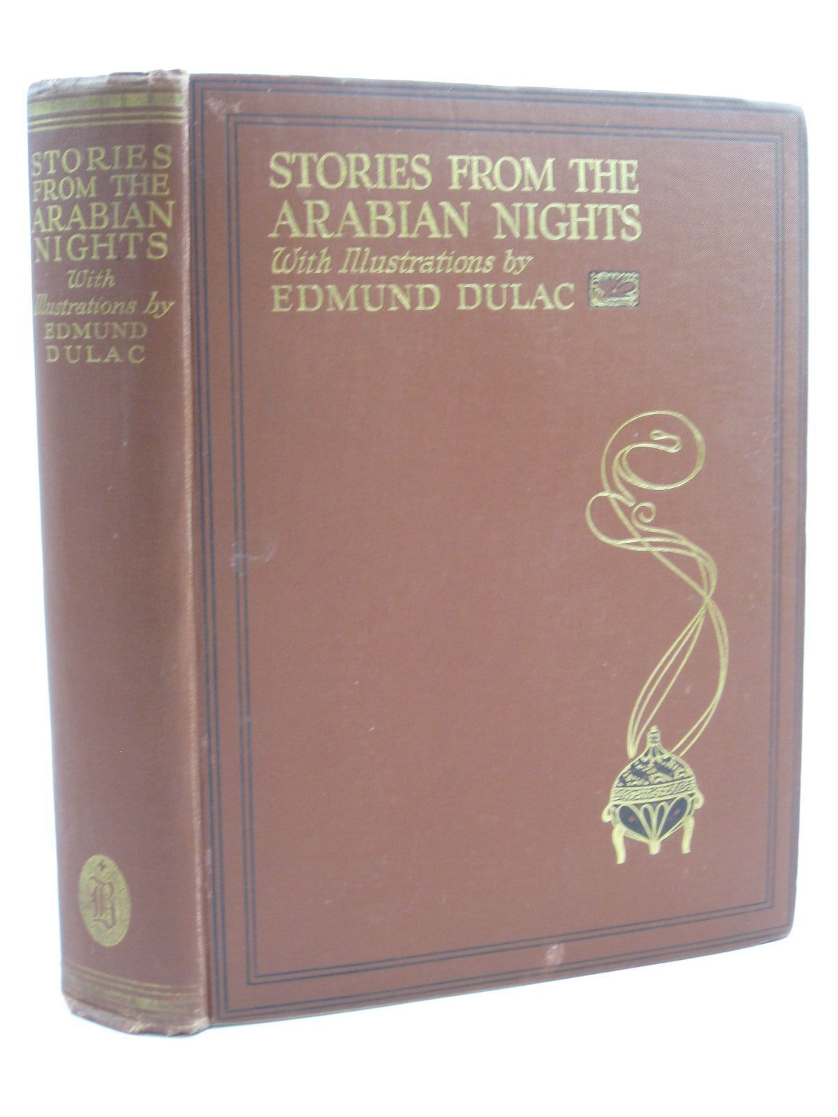 Photo of STORIES FROM THE ARABIAN NIGHTS written by Housman, Laurence illustrated by Dulac, Edmund published by Hodder & Stoughton, Boots the Chemists (STOCK CODE: 1507211)  for sale by Stella & Rose's Books