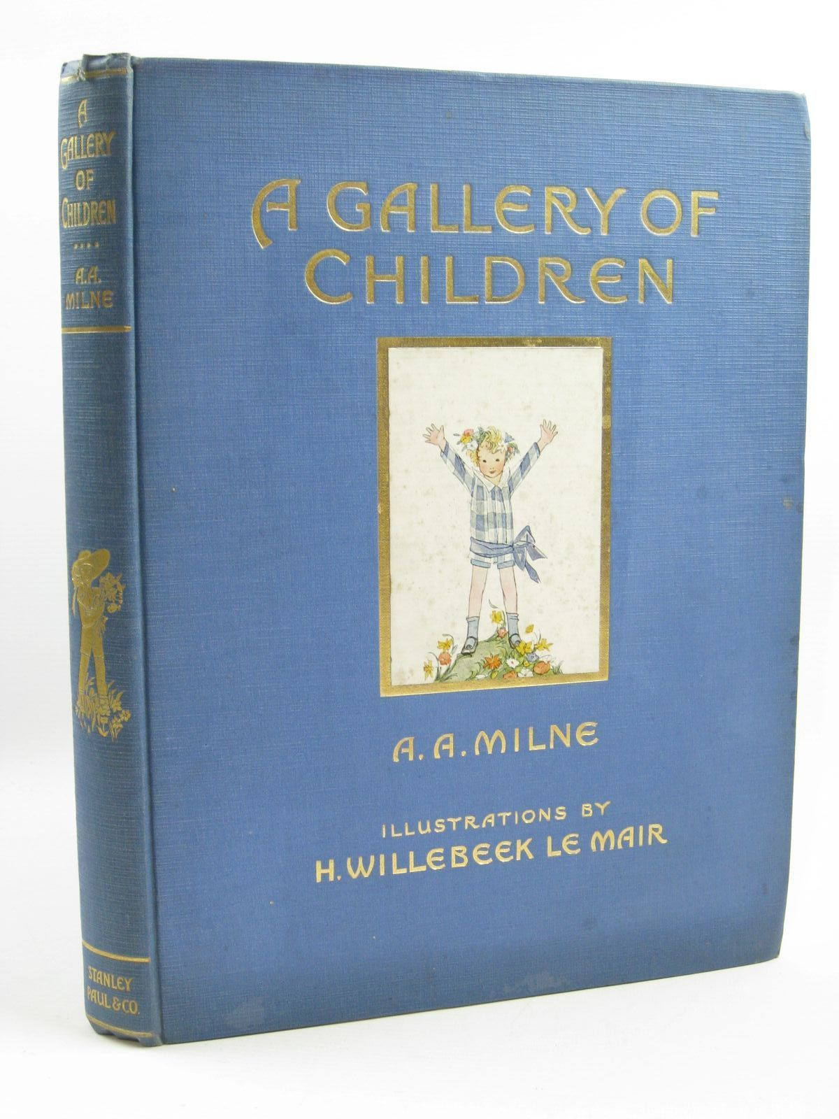 Photo of A GALLERY OF CHILDREN written by Milne, A.A. illustrated by Willebeek Le Mair, Henriette published by Stanley Paul & Co. Ltd. (STOCK CODE: 1507212)  for sale by Stella & Rose's Books