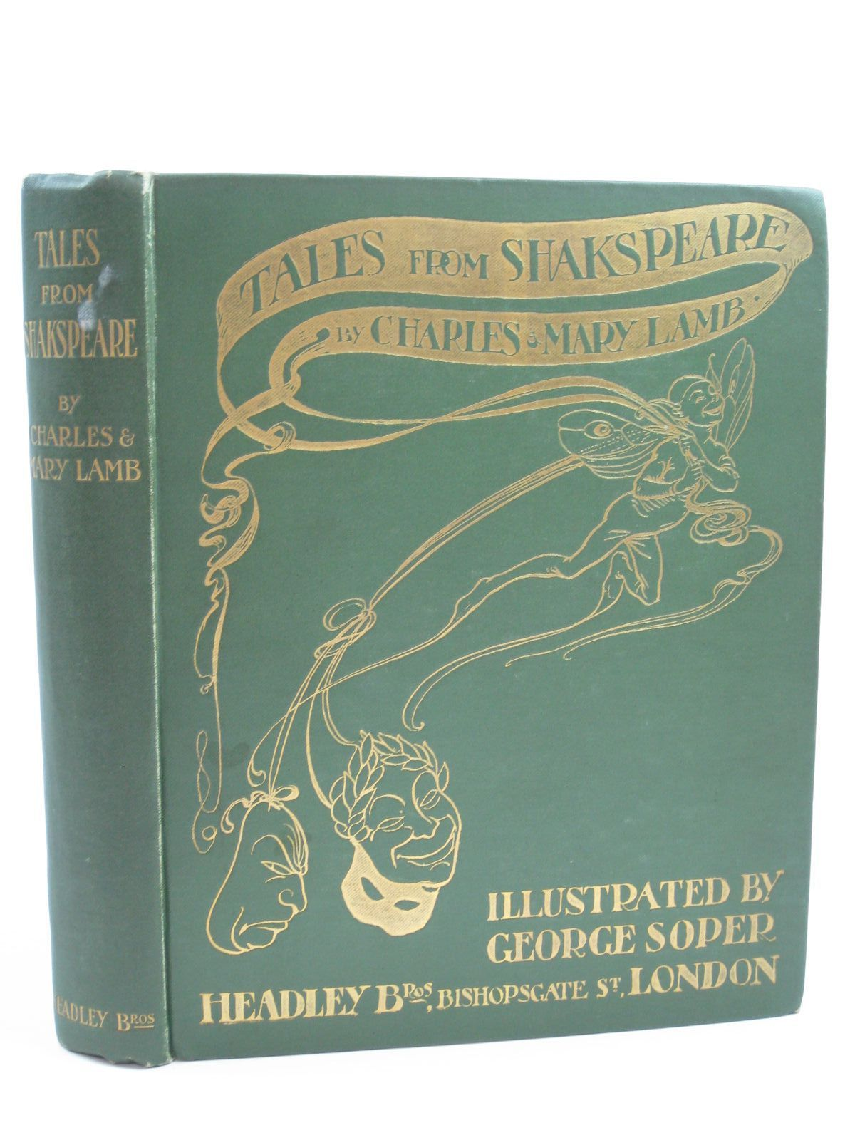Photo of TALES FROM SHAKESPEARE written by Lamb, Charles<br />Lamb, Mary illustrated by Soper, George published by Headley Brothers (STOCK CODE: 1507214)  for sale by Stella & Rose's Books