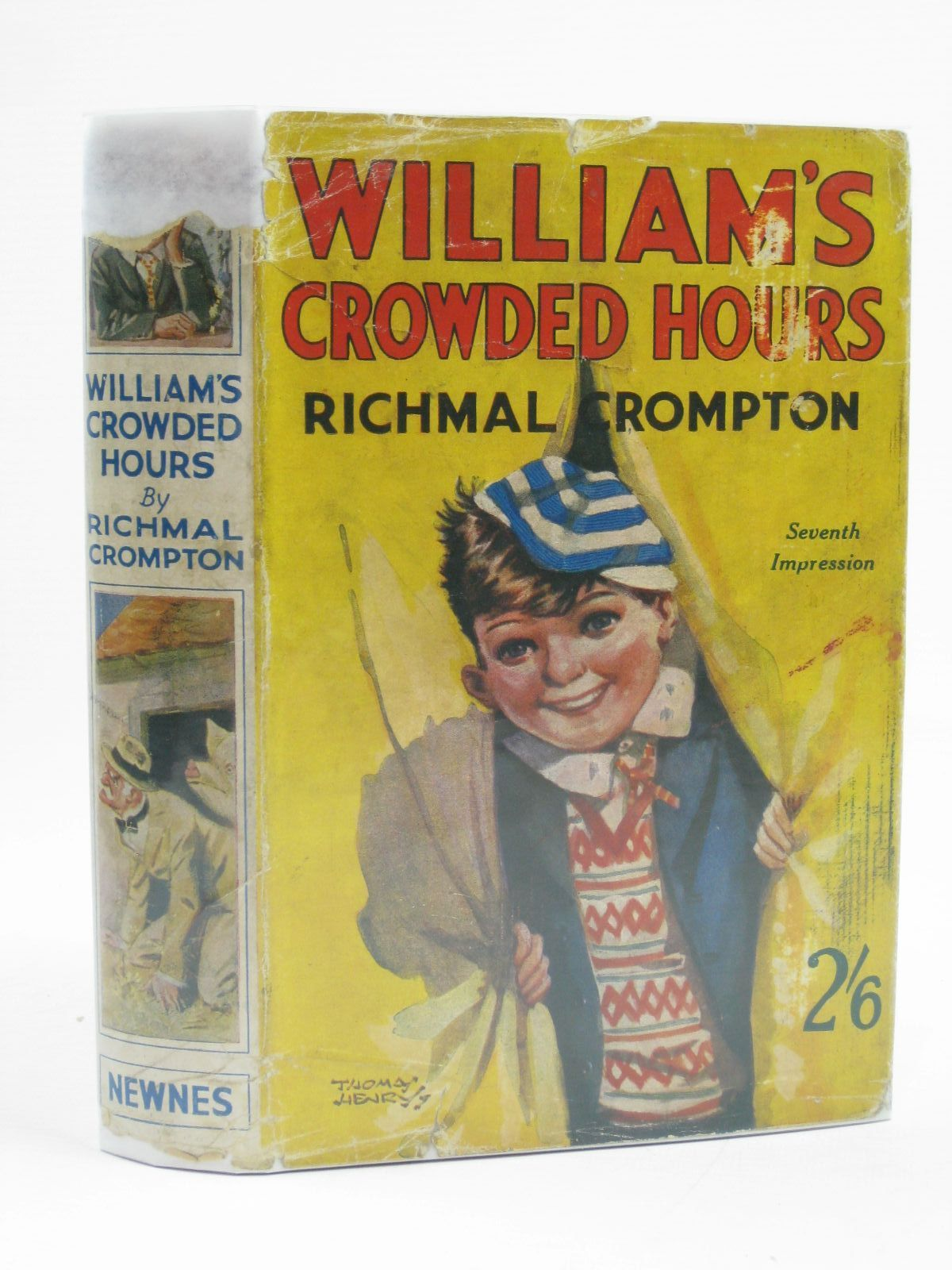 Photo of WILLIAM'S CROWDED HOURS written by Crompton, Richmal illustrated by Henry, Thomas published by George Newnes Limited (STOCK CODE: 1507219)  for sale by Stella & Rose's Books