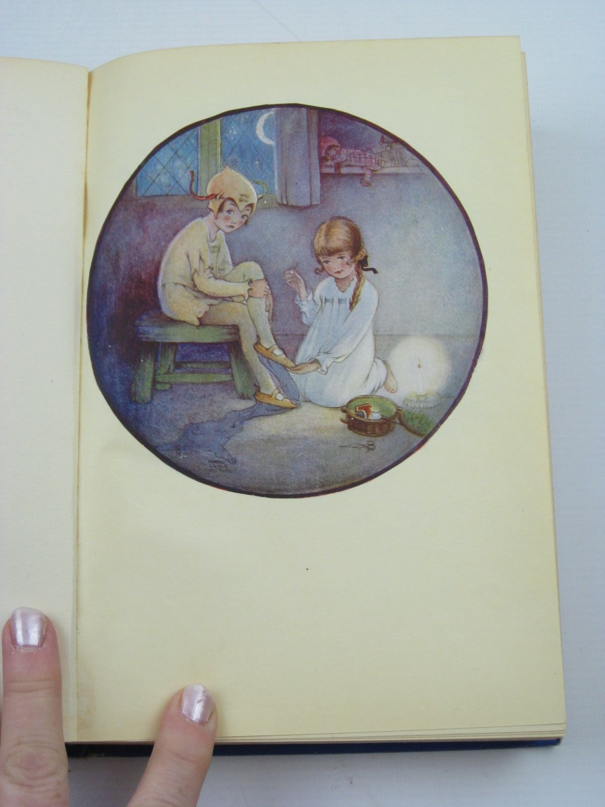 Photo of PETER PAN AND WENDY written by Barrie, J.M. illustrated by Attwell, Mabel Lucie published by Hodder & Stoughton (STOCK CODE: 1507233)  for sale by Stella & Rose's Books