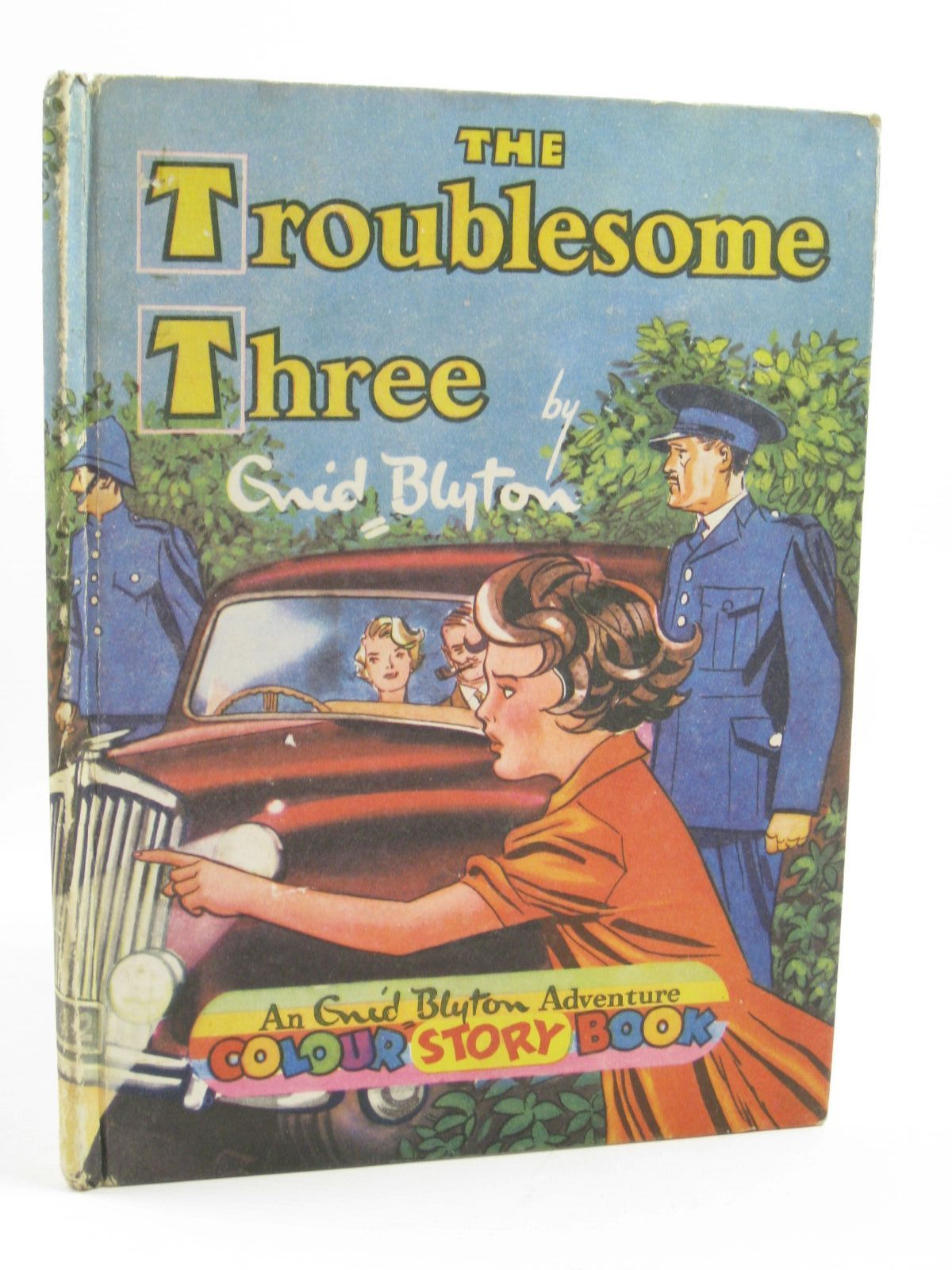 Photo of THE TROUBLESOME THREE written by Blyton, Enid illustrated by Leo,  published by Sampson Low, Marston & Co. Ltd., Pleiades Books Ltd. (STOCK CODE: 1507247)  for sale by Stella & Rose's Books