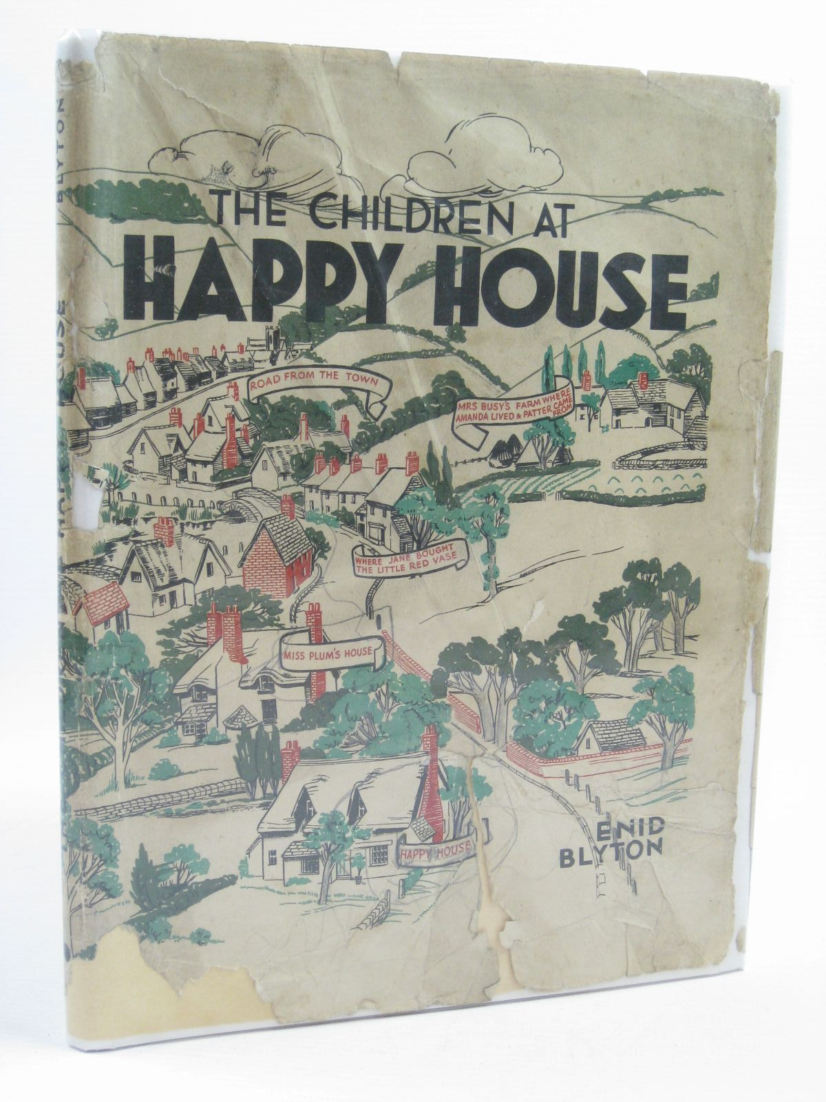 Photo of THE CHILDREN AT HAPPY HOUSE written by Blyton, Enid illustrated by Gell, Kathleen published by Shakespeare Head Press (STOCK CODE: 1507248)  for sale by Stella & Rose's Books
