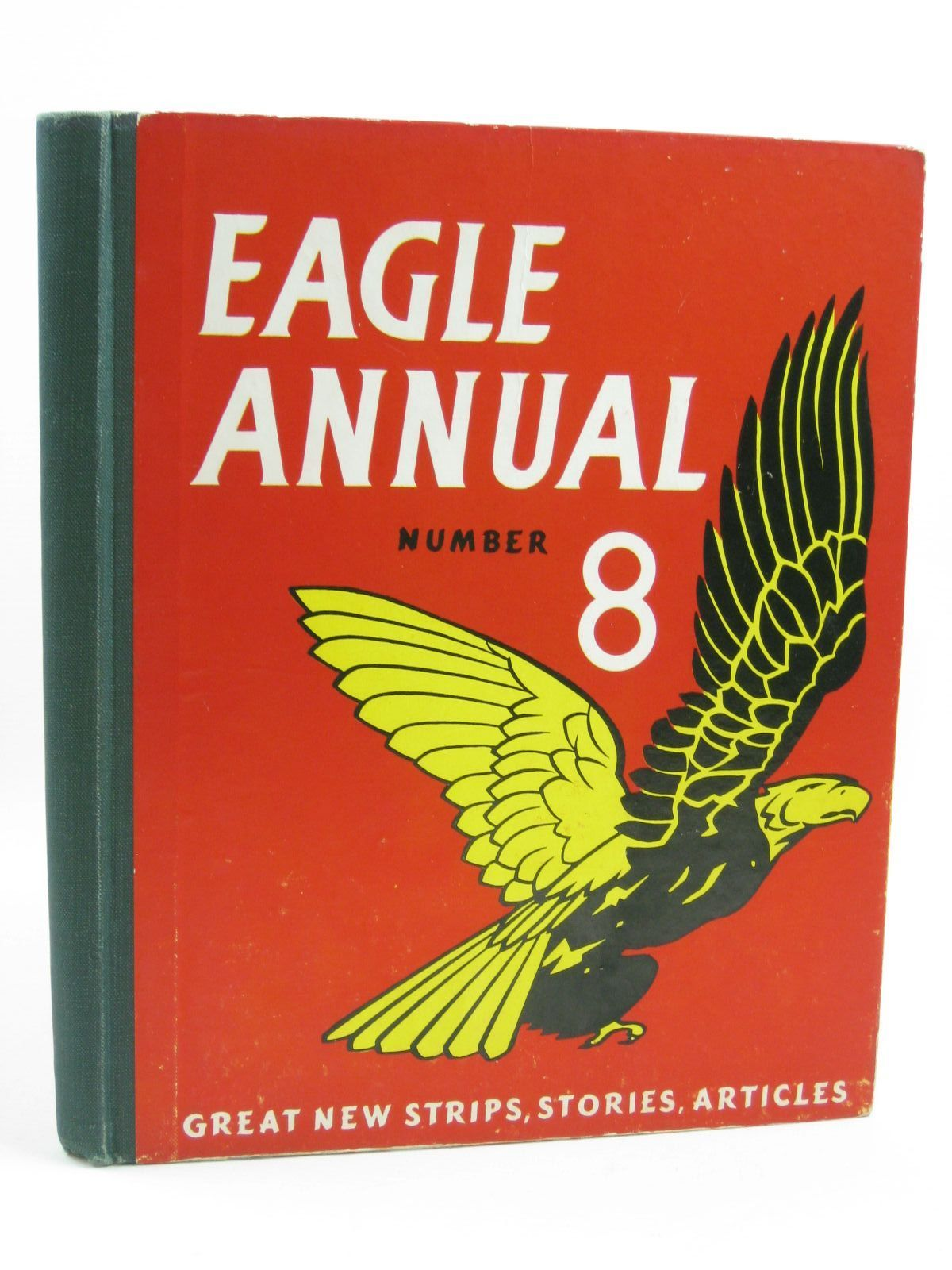 Photo of EAGLE ANNUAL No. 8 written by Morris, Marcus published by Hulton Press (STOCK CODE: 1507257)  for sale by Stella & Rose's Books