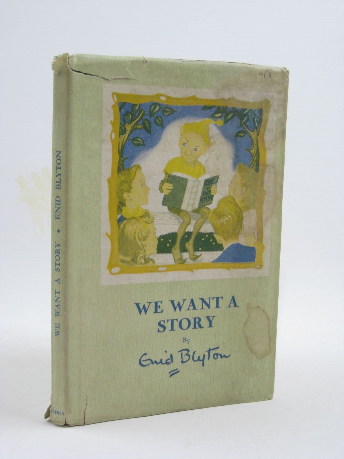 Photo of WE WANT A STORY written by Blyton, Enid illustrated by Bowe, George published by Pitkin (STOCK CODE: 1507307)  for sale by Stella & Rose's Books
