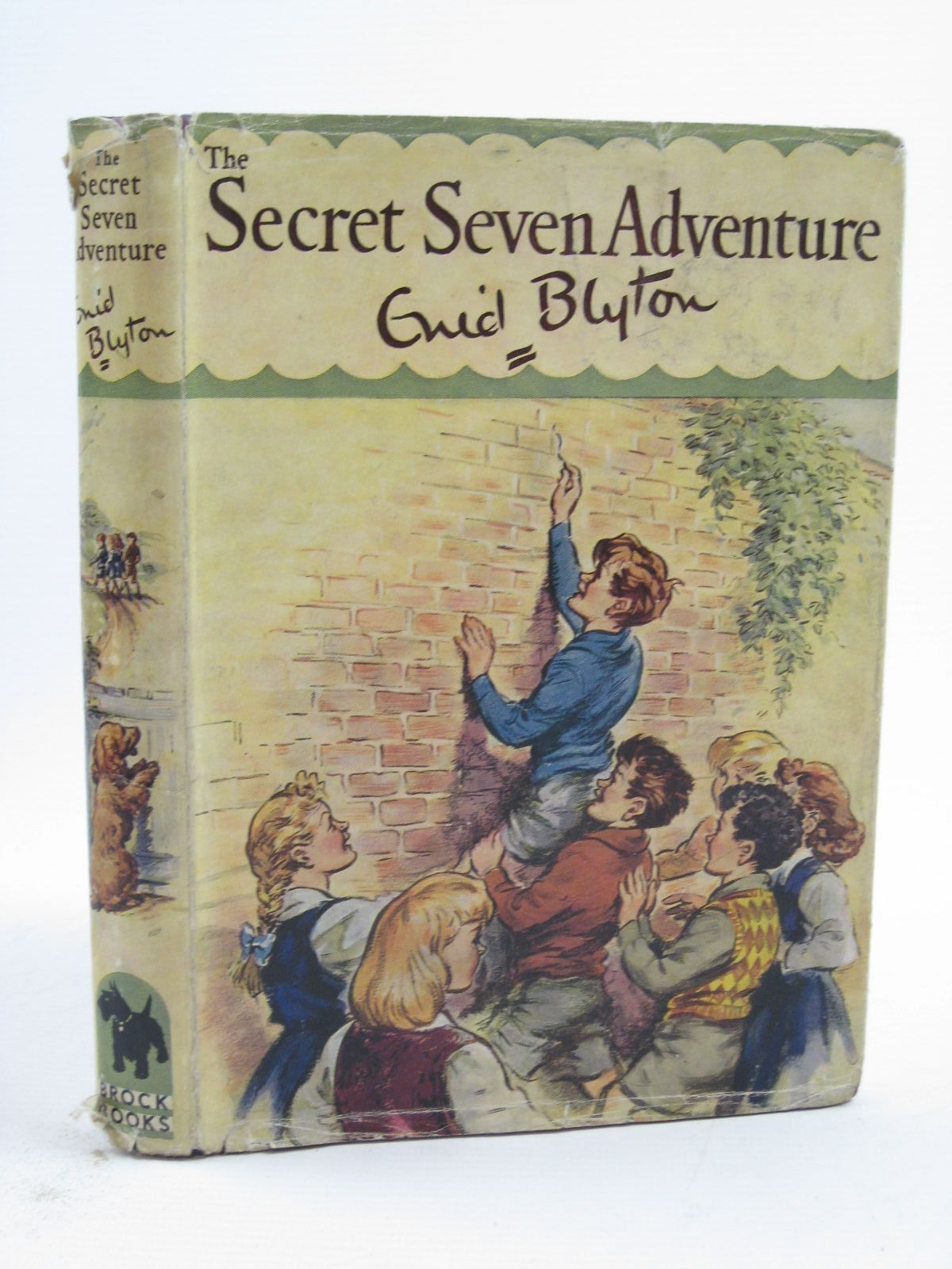 Photo of SECRET SEVEN ADVENTURE written by Blyton, Enid illustrated by Brook, George published by Brockhampton Press (STOCK CODE: 1507309)  for sale by Stella & Rose's Books