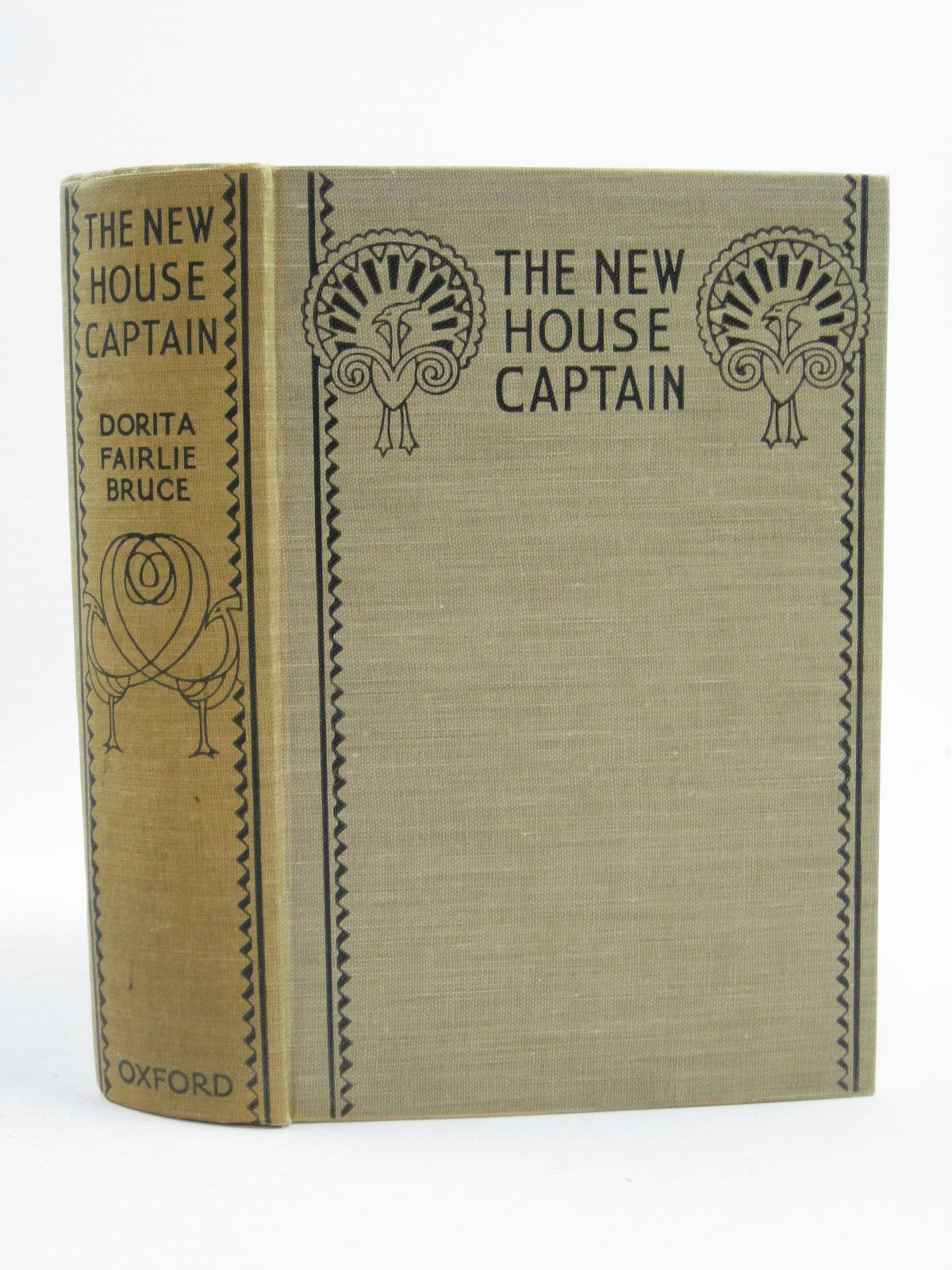 Photo of THE NEW HOUSE CAPTAIN written by Bruce, Dorita Fairlie illustrated by Reeve, Mary Strange published by Humphrey Milford, Oxford University Press (STOCK CODE: 1507316)  for sale by Stella & Rose's Books