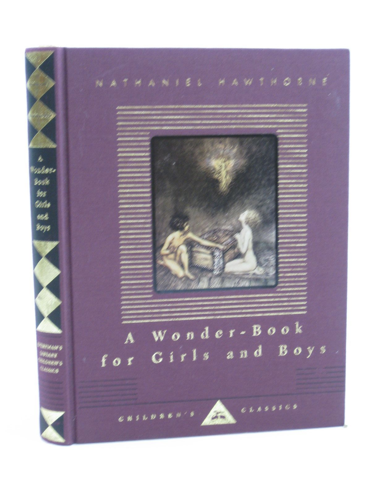 Photo of A WONDER BOOK FOR GIRLS AND BOYS written by Hawthorne, Nathaniel illustrated by Rackham, Arthur published by David Campbell Publishers Ltd. (STOCK CODE: 1507351)  for sale by Stella & Rose's Books