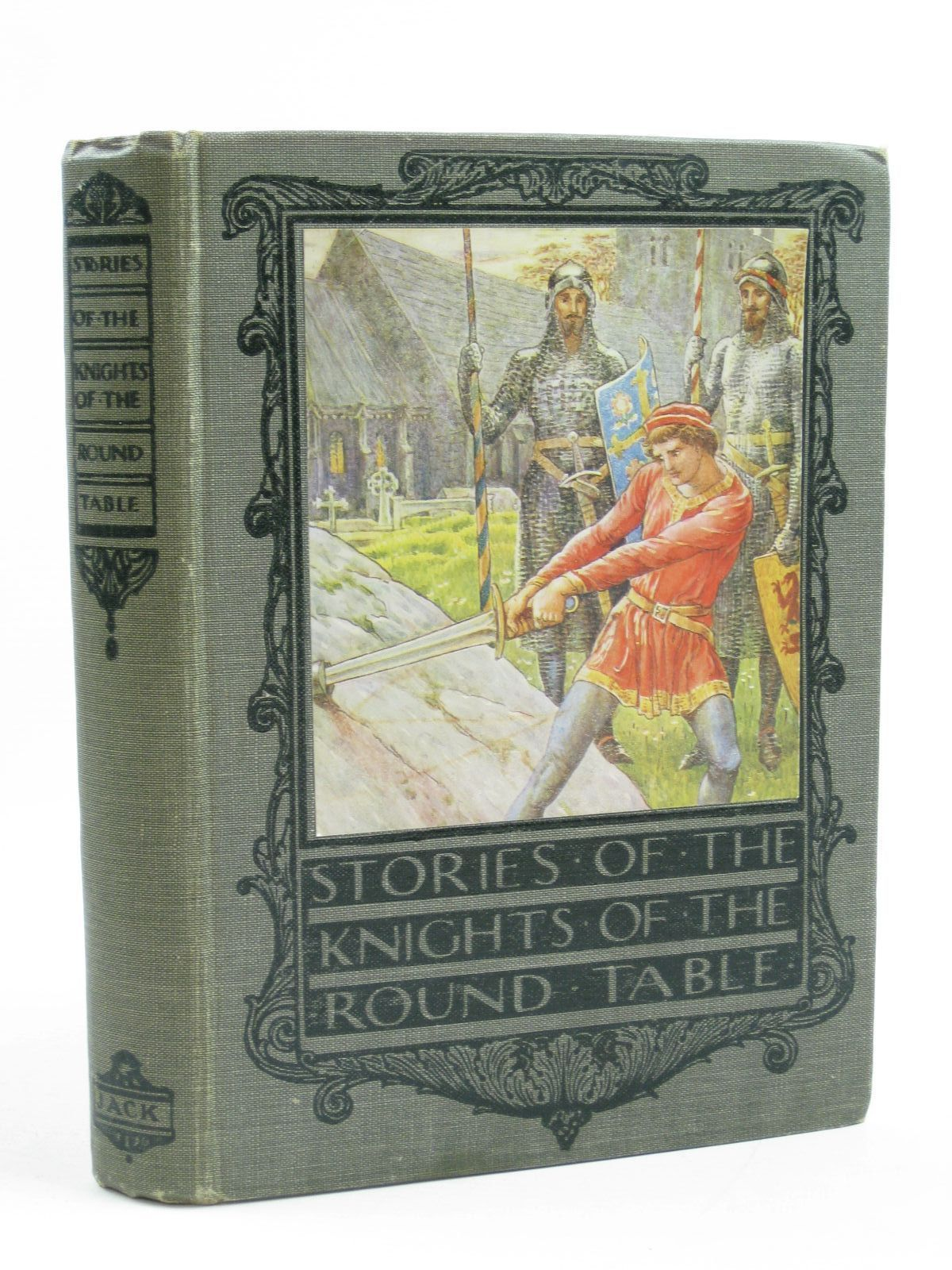 Photo of THE KNIGHTS OF THE ROUND TABLE written by Gilbert, Henry illustrated by Crane, Walter published by Thomas Nelson and Sons Ltd. (STOCK CODE: 1507360)  for sale by Stella & Rose's Books