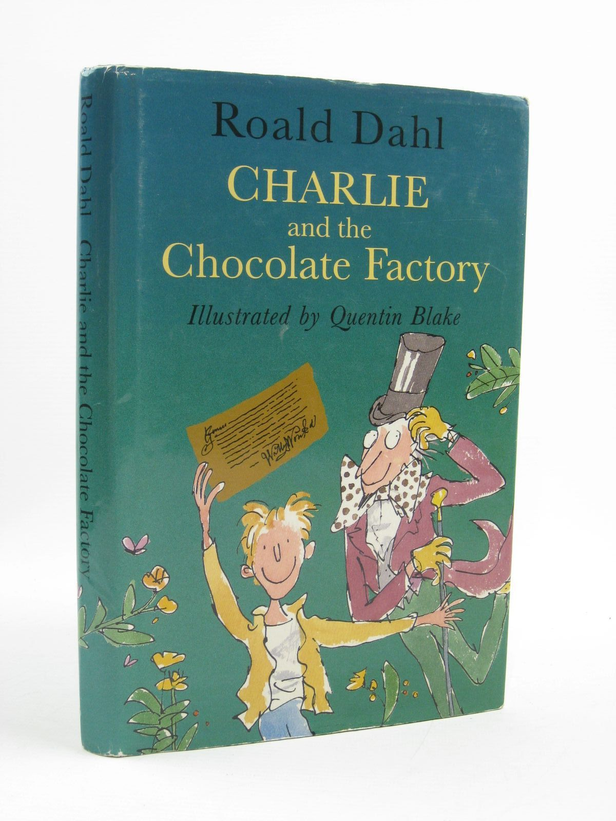 Photo of CHARLIE AND THE CHOCOLATE FACTORY written by Dahl, Roald illustrated by Blake, Quentin published by Viking (STOCK CODE: 1507366)  for sale by Stella & Rose's Books