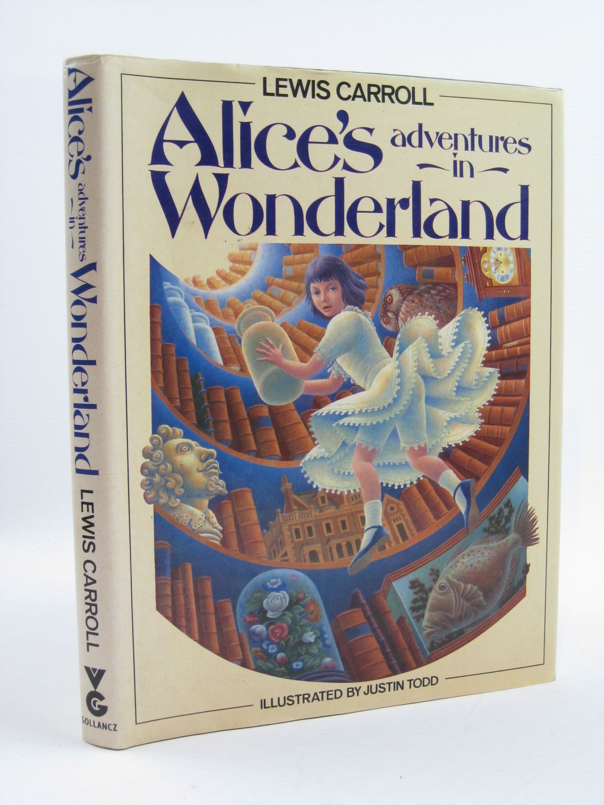 Photo of ALICE'S ADVENTURES IN WONDERLAND written by Carroll, Lewis illustrated by Todd, Justin published by Victor Gollancz Ltd. (STOCK CODE: 1507371)  for sale by Stella & Rose's Books