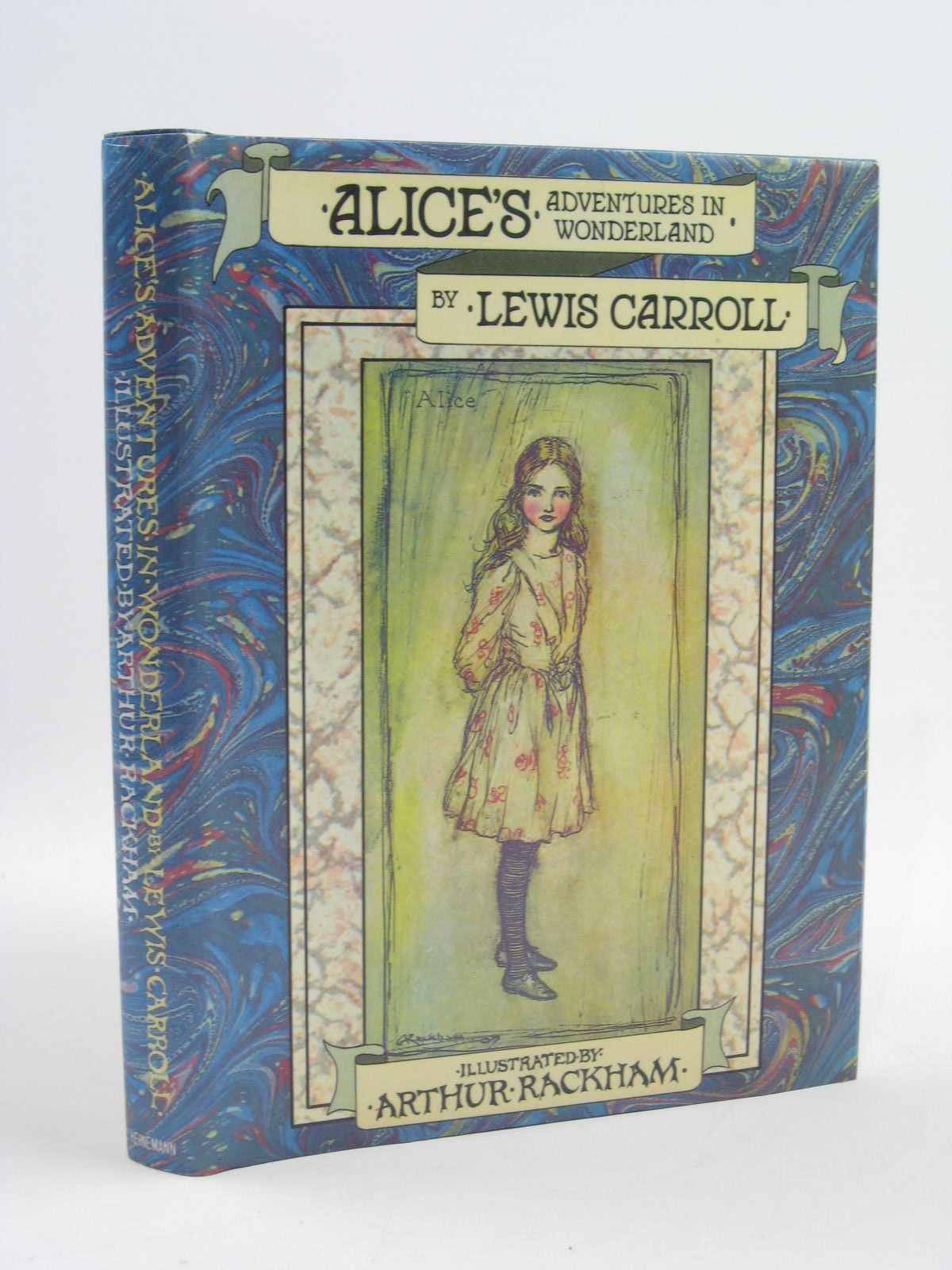 Photo of ALICE'S ADVENTURES IN WONDERLAND written by Carroll, Lewis illustrated by Rackham, Arthur published by William Heinemann (STOCK CODE: 1507379)  for sale by Stella & Rose's Books