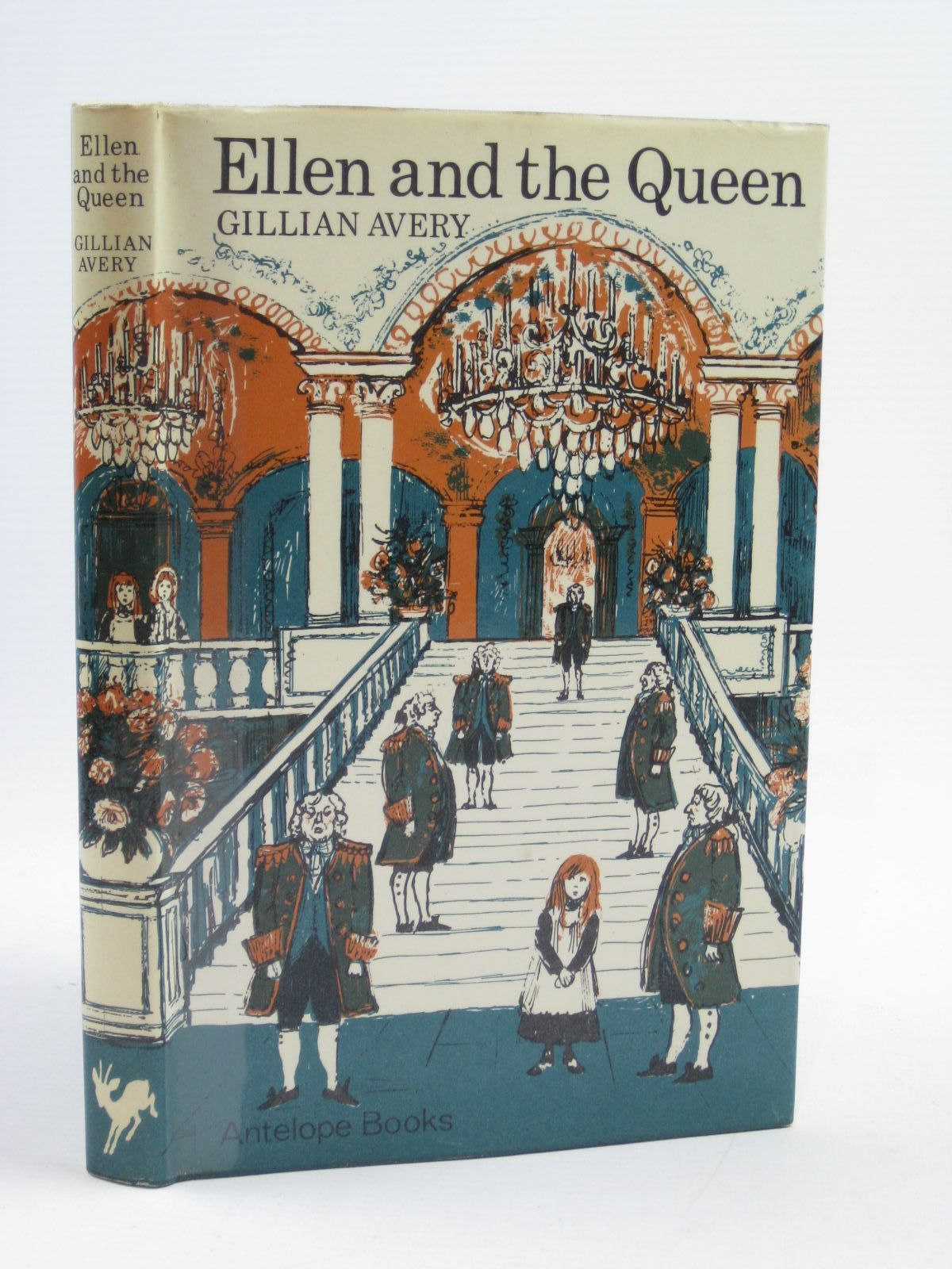 Photo of ELLEN AND THE QUEEN written by Avery, Gillian illustrated by Turska, Krystyna published by Hamish Hamilton (STOCK CODE: 1507389)  for sale by Stella & Rose's Books