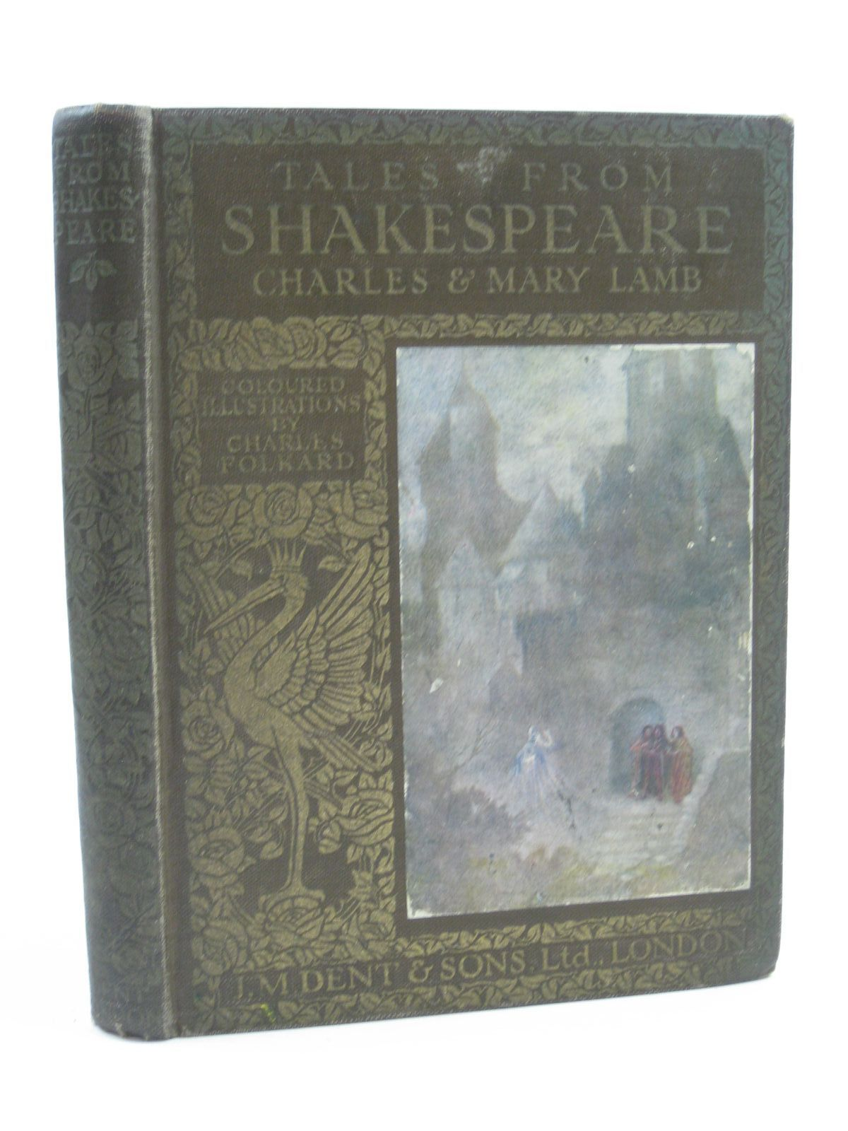 Photo of TALES FROM SHAKESPEARE written by Lamb, Charles<br />Lamb, Mary<br />Shakespeare, William illustrated by Folkard, Charles published by J.M. Dent & Sons Ltd., E.P. Dutton & Co. Inc. (STOCK CODE: 1507395)  for sale by Stella & Rose's Books