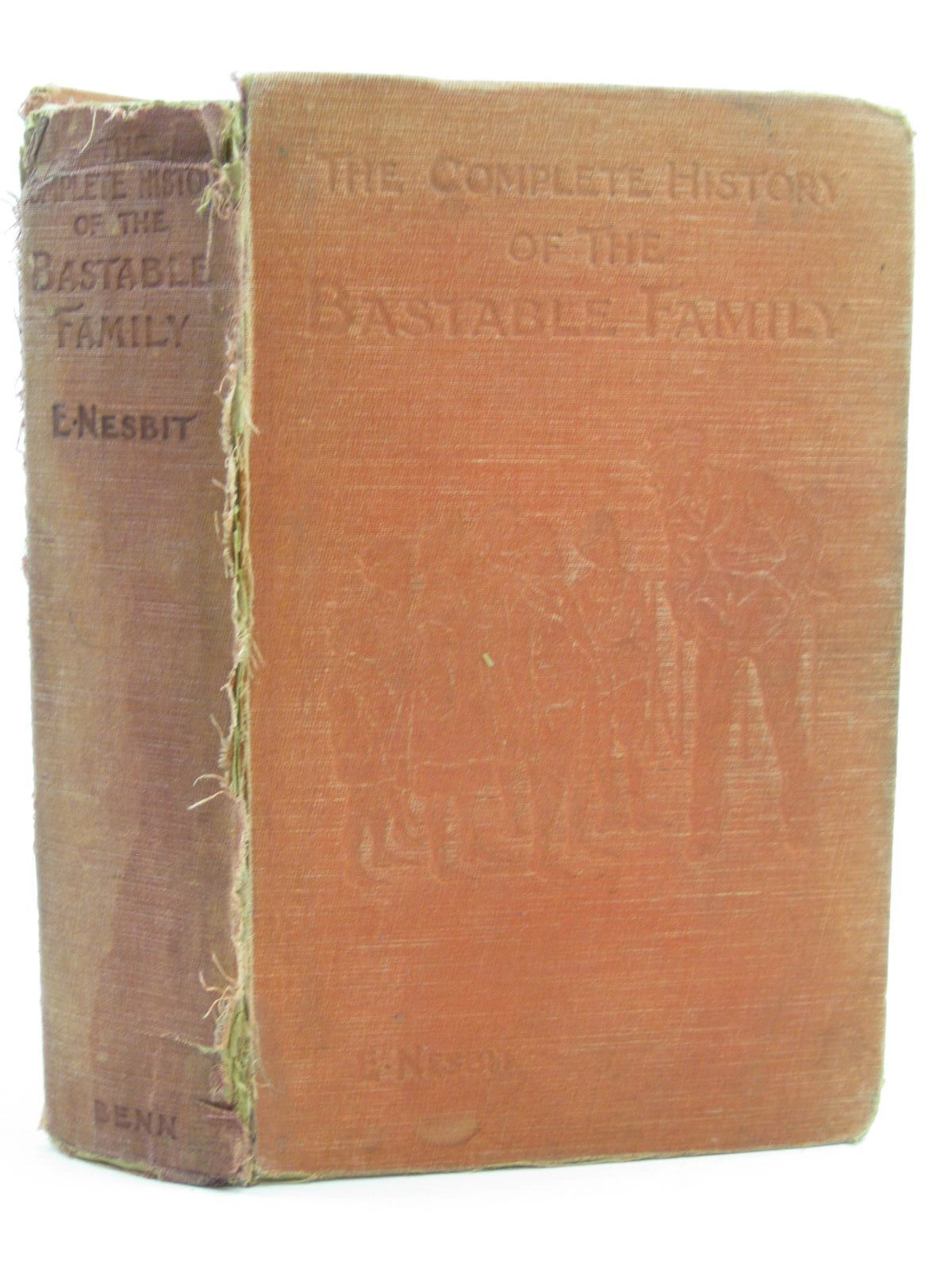 Photo of THE COMPLETE HISTORY OF THE BASTABLE FAMILY written by Nesbit, E. illustrated by Blampied, Edmund<br />et al., published by Ernest Benn Limited (STOCK CODE: 1507401)  for sale by Stella & Rose's Books