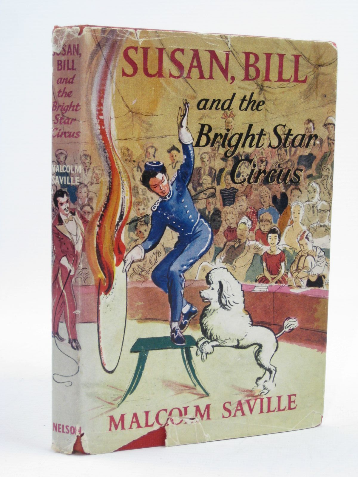 Photo of SUSAN, BILL AND THE BRIGHT STAR CIRCUS written by Saville, Malcolm illustrated by Freeman, T.R. published by Thomas Nelson and Sons Ltd. (STOCK CODE: 1507439)  for sale by Stella & Rose's Books