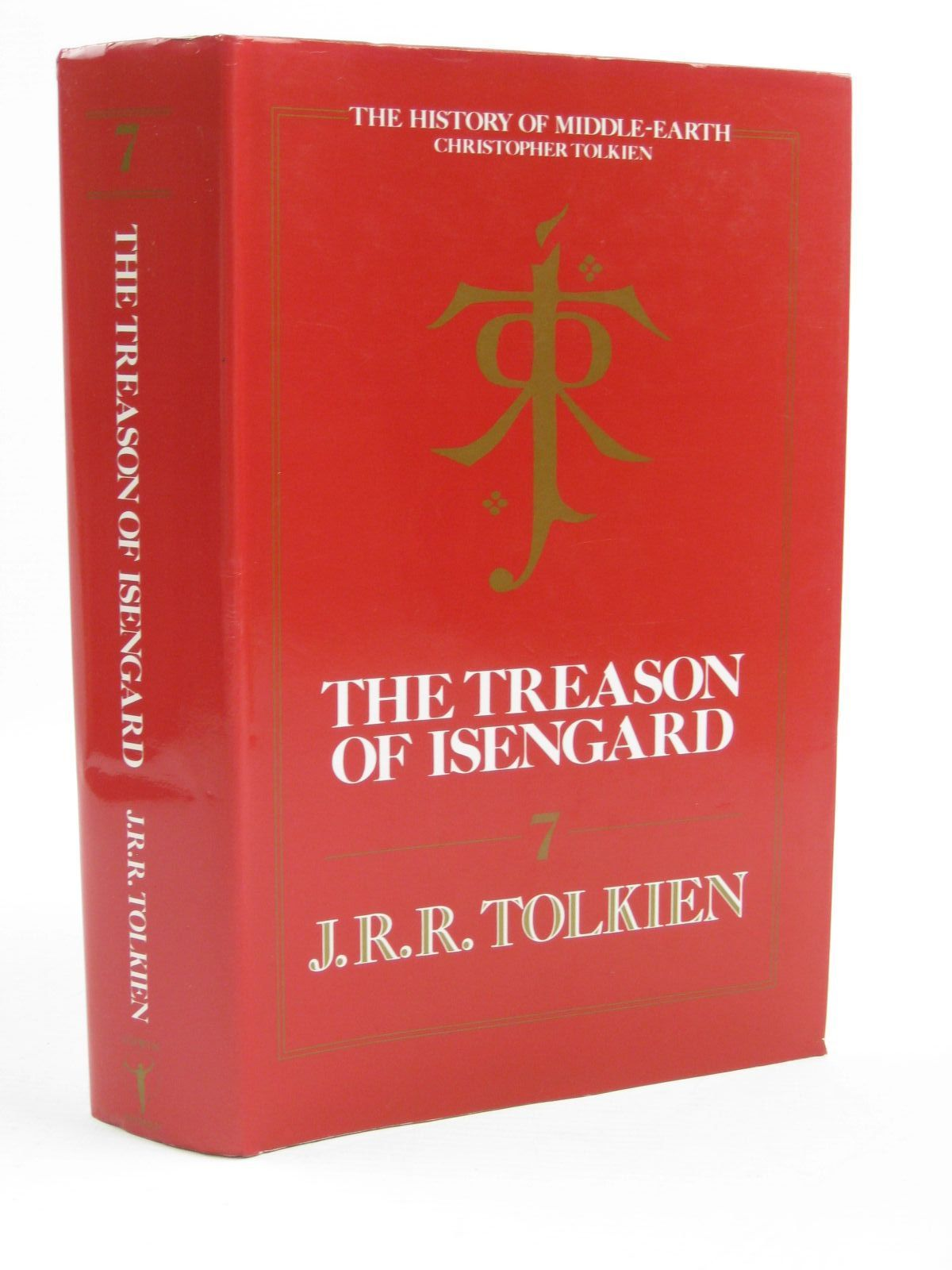 Photo of THE TREASON OF ISENGARD written by Tolkien, J.R.R. published by Unwin Hyman Ltd. (STOCK CODE: 1507455)  for sale by Stella & Rose's Books