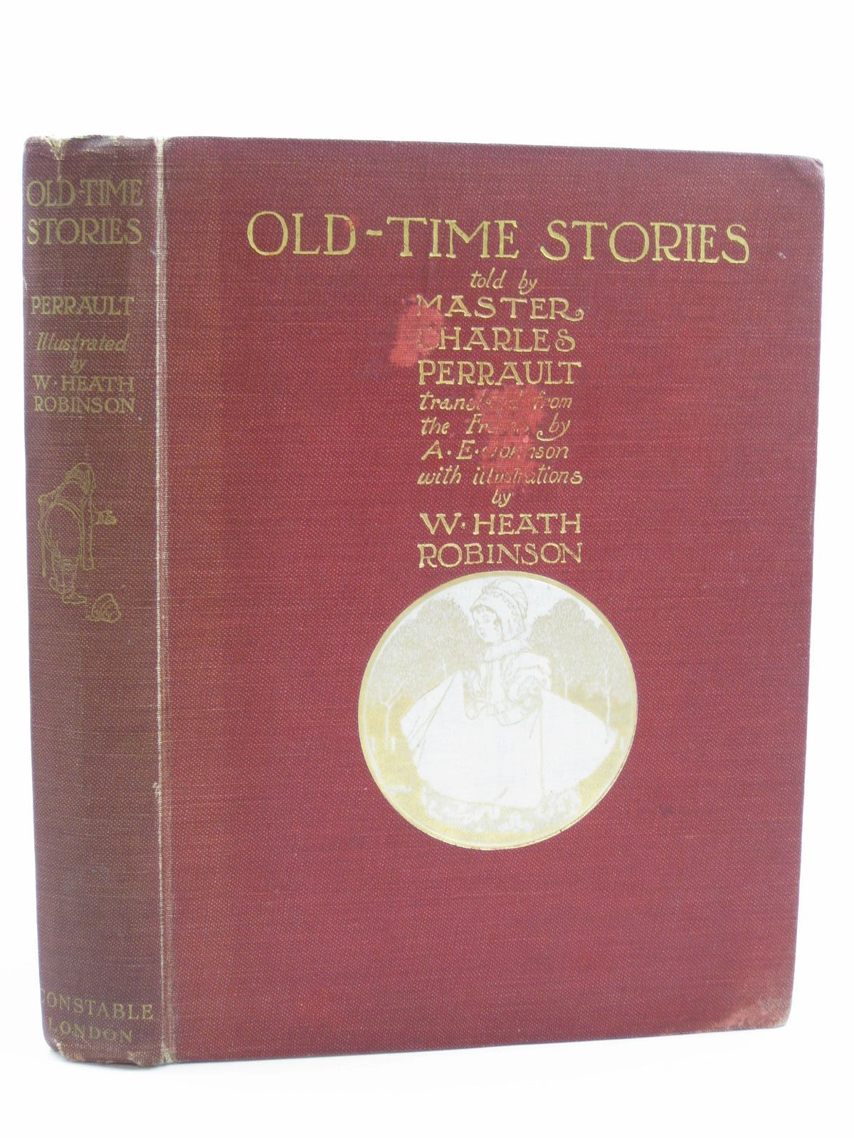 Photo of OLD-TIME STORIES written by Perrault, Charles illustrated by Robinson, W. Heath published by Constable and Company Ltd. (STOCK CODE: 1507456)  for sale by Stella & Rose's Books
