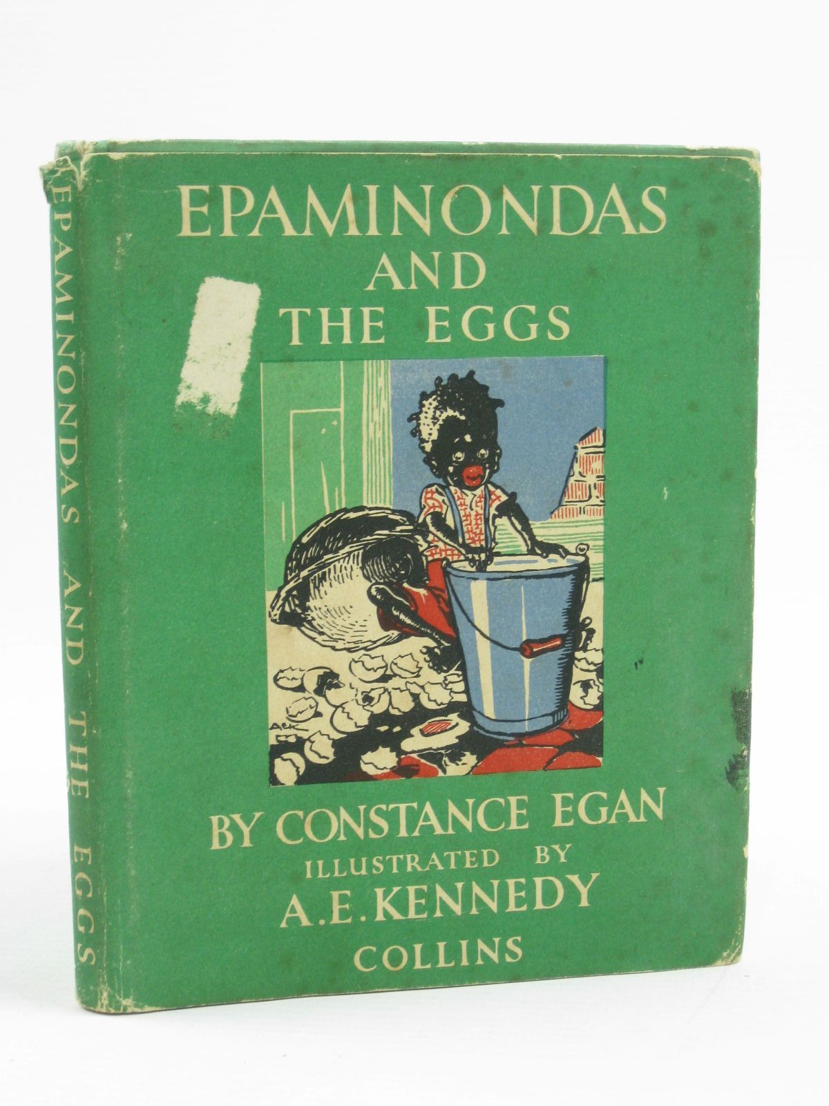 Photo of EPAMINONDAS AND THE EGGS written by Egan, Constance illustrated by Kennedy, A.E. published by Collins (STOCK CODE: 1507467)  for sale by Stella & Rose's Books