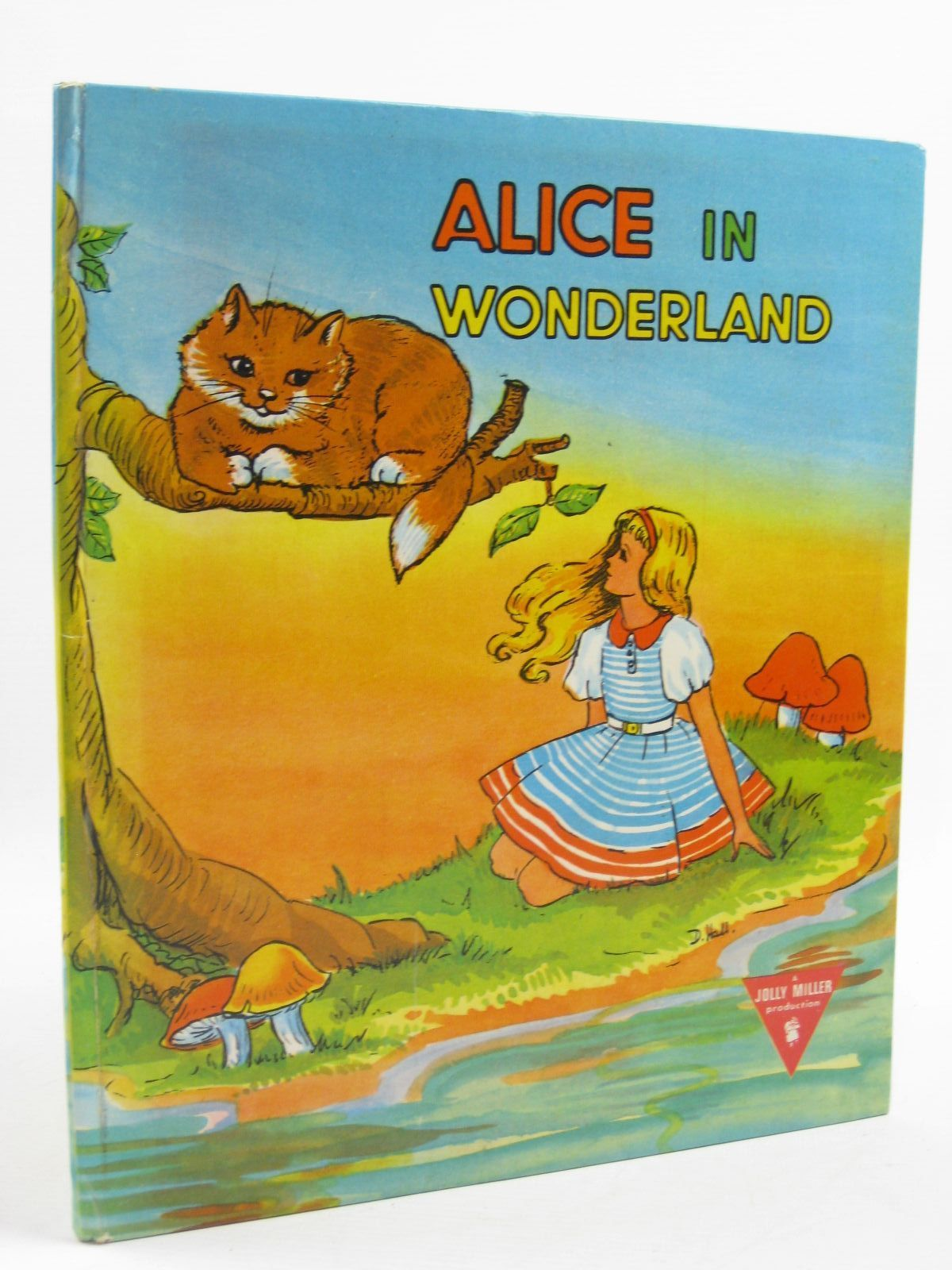 Photo of ALICE IN WONDERLAND written by Carroll, Lewis illustrated by Hall, D. published by L. Miller & Co. (Hackney) Ltd. (STOCK CODE: 1507483)  for sale by Stella & Rose's Books