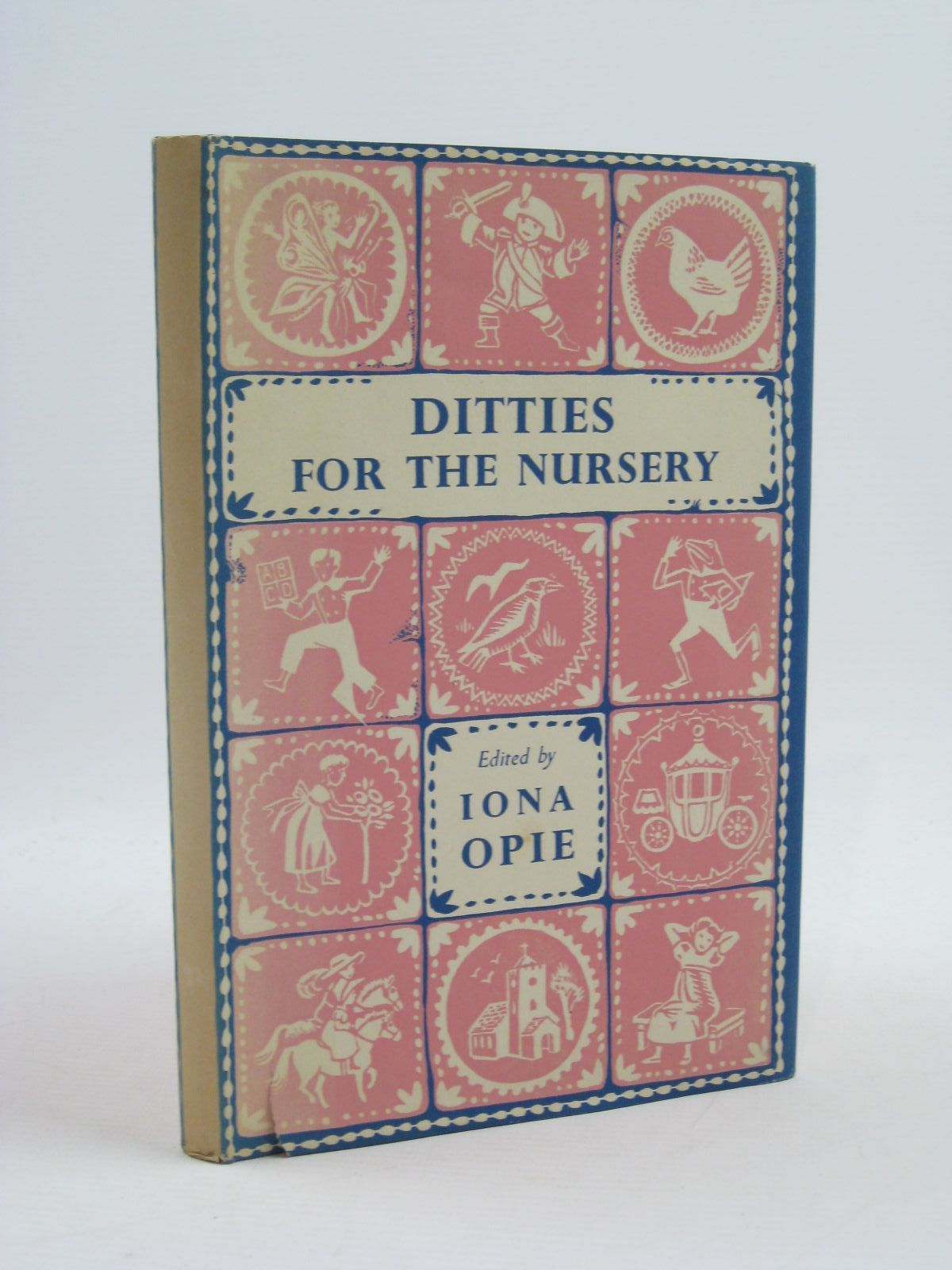 Photo of DITTIES FOR THE NURSERY written by Opie, Iona illustrated by Walker, Monica published by Oxford University Press (STOCK CODE: 1507497)  for sale by Stella & Rose's Books