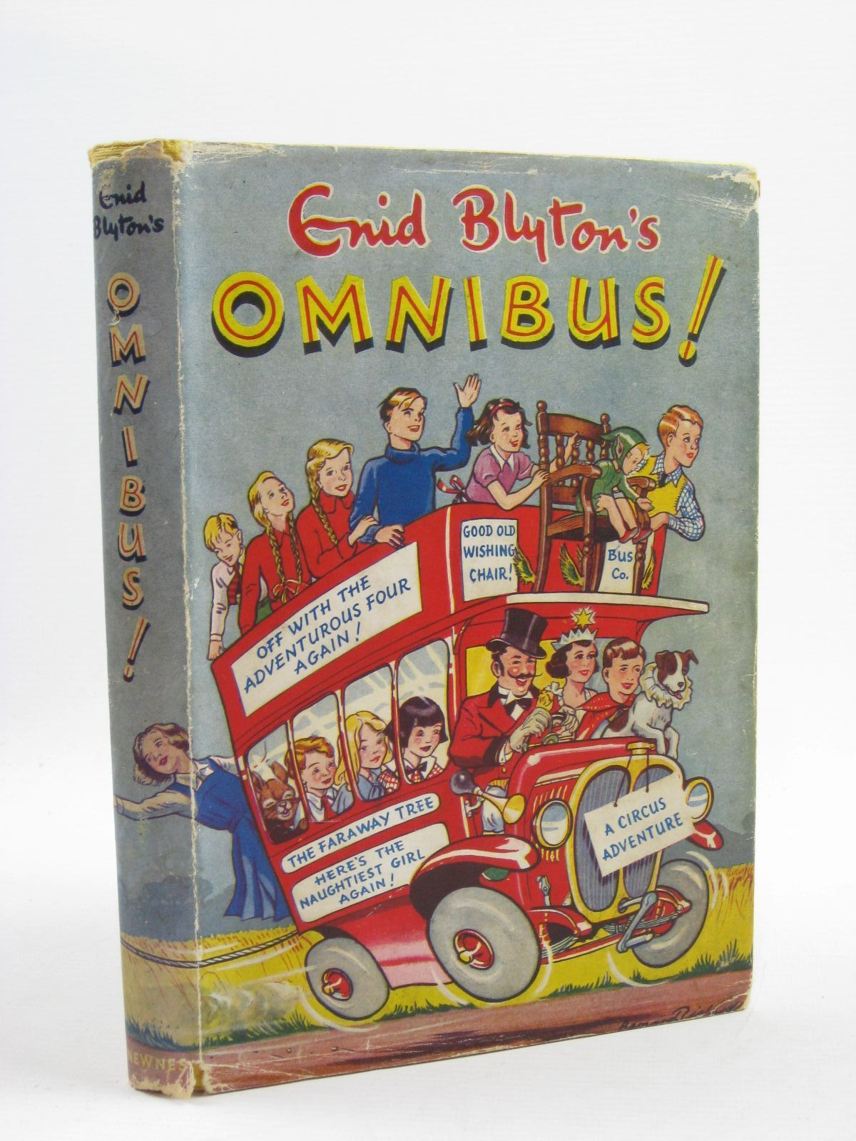 Photo of ENID BLYTON'S OMNIBUS written by Blyton, Enid illustrated by Land, Jessie<br />McGavin, Hilda<br />Davie, E.H.<br />Wheeler, Dorothy M.<br />Kay,  published by George Newnes Limited (STOCK CODE: 1507506)  for sale by Stella & Rose's Books