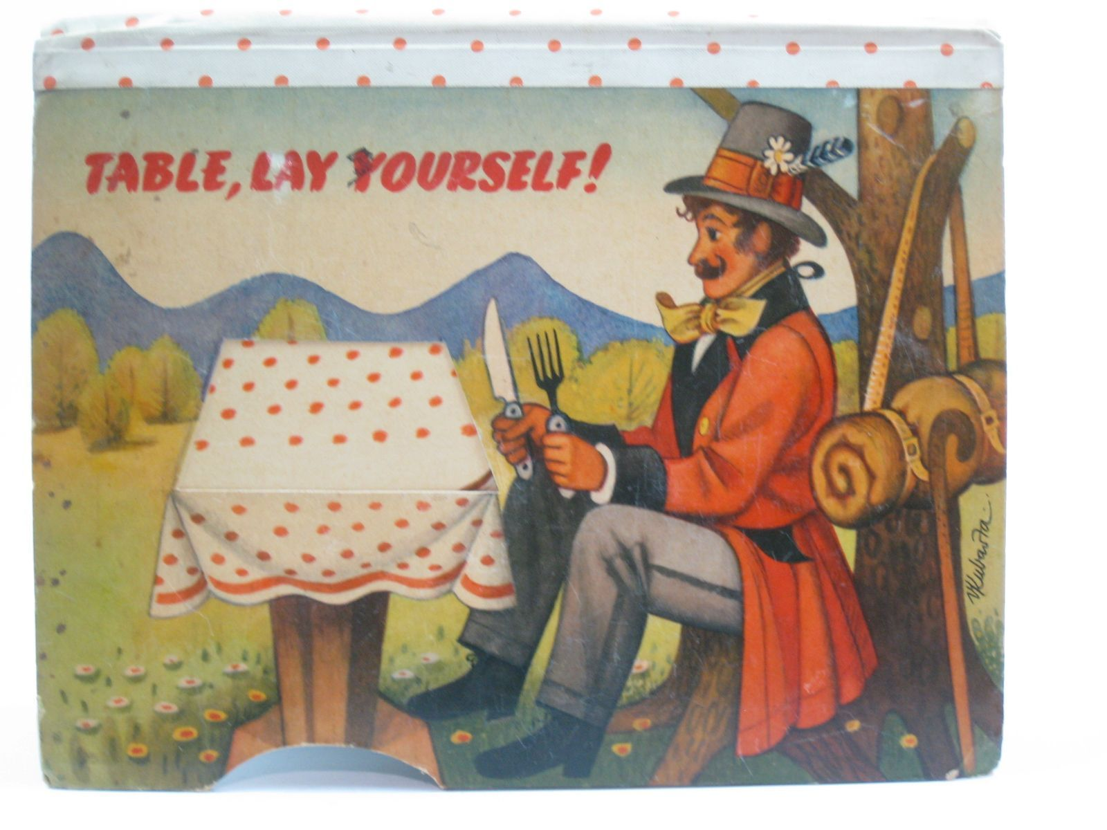 Photo of TABLE, LAY YOURSELF! illustrated by Kubasta, Vojtech published by Bancroft & Co.(Publishers) Ltd. (STOCK CODE: 1507552)  for sale by Stella & Rose's Books