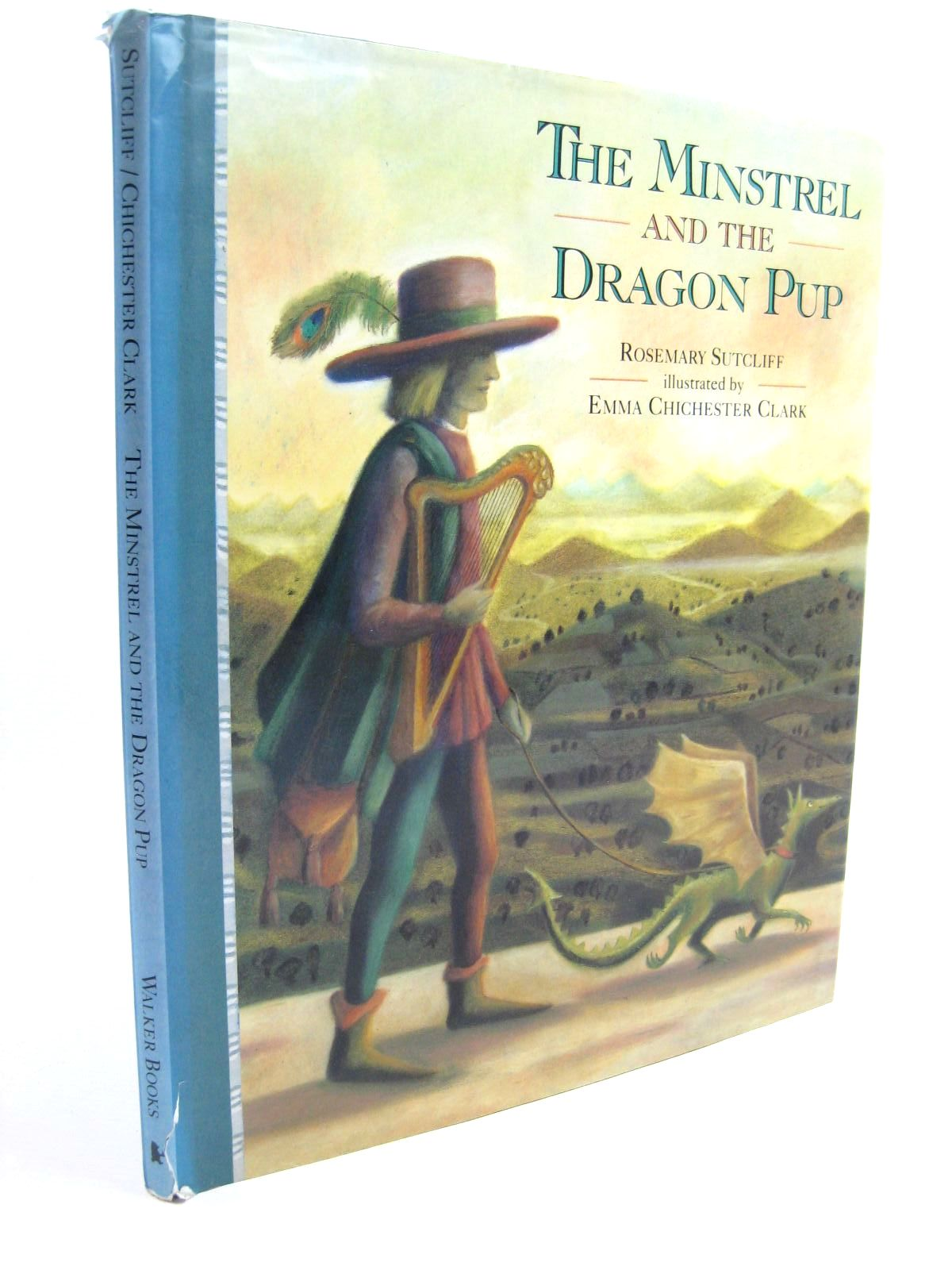 Photo of THE MINSTREL AND THE DRAGON PUP written by Sutcliff, Rosemary illustrated by Clark, Emma Chichester published by Walker Books (STOCK CODE: 1507554)  for sale by Stella & Rose's Books