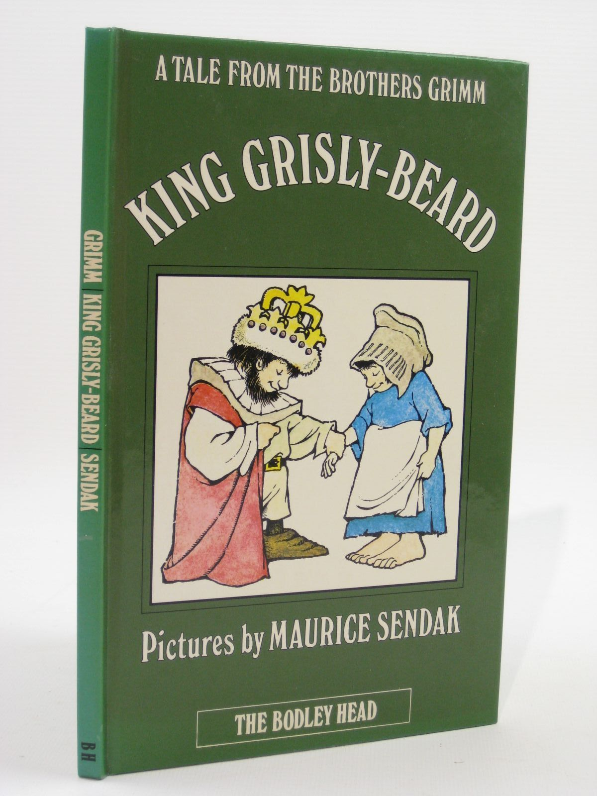 Photo of KING GRISLY-BEARD written by Grimm, Brothers illustrated by Sendak, Maurice published by The Bodley Head (STOCK CODE: 1507591)  for sale by Stella & Rose's Books