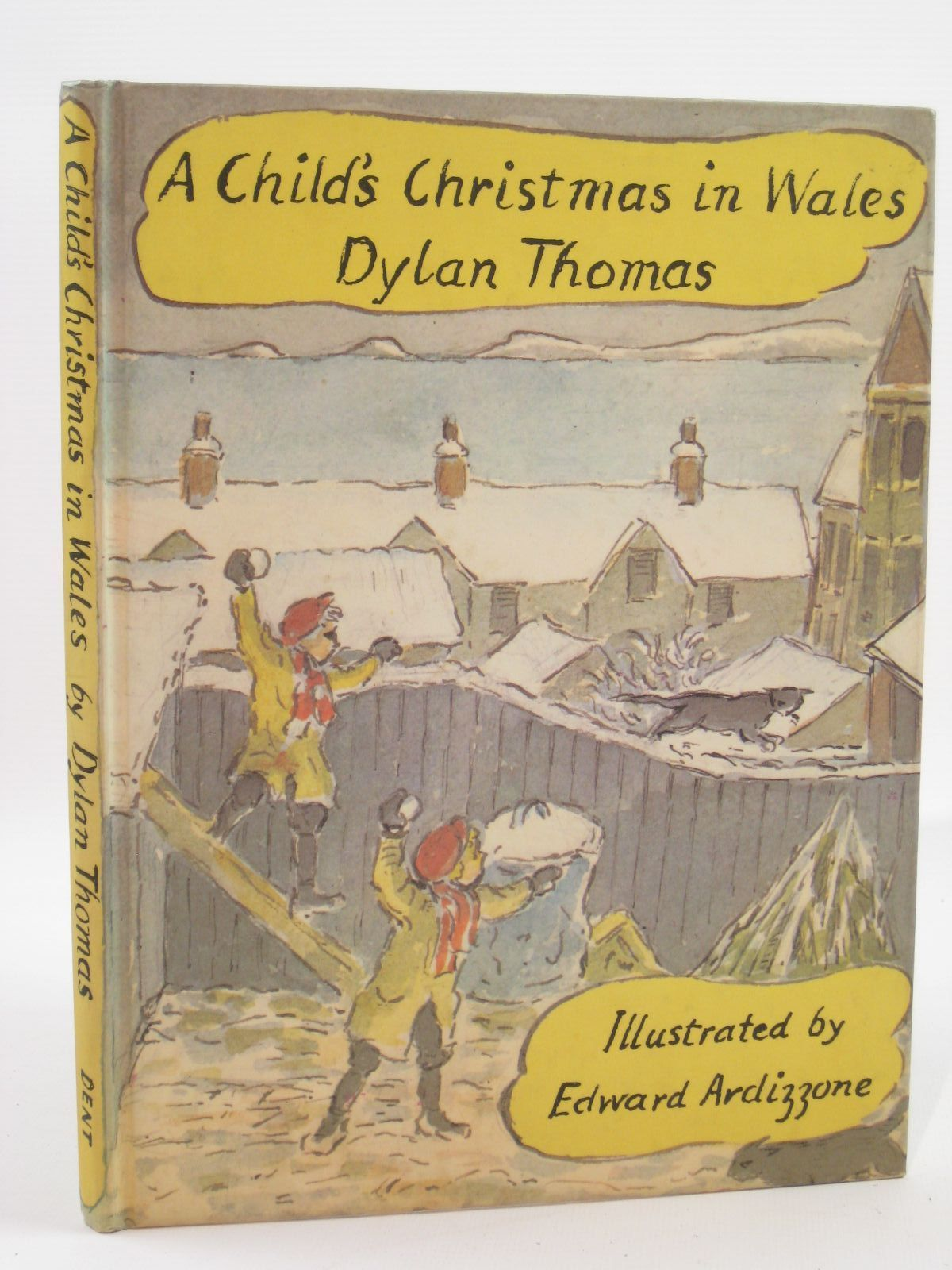 photo of a childs christmas in wales written by thomas dylan illustrated by ardizzone