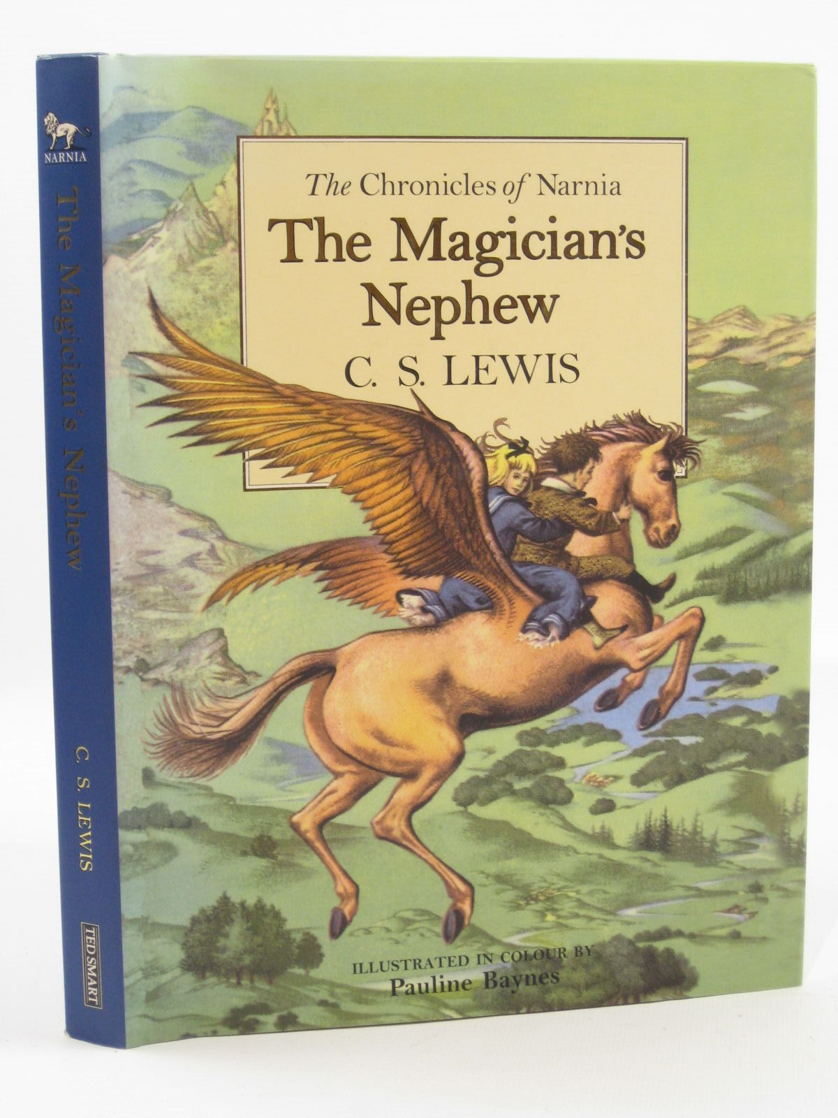 Photo of THE MAGICIAN'S NEPHEW written by Lewis, C.S. illustrated by Baynes, Pauline published by Ted Smart (STOCK CODE: 1507615)  for sale by Stella & Rose's Books