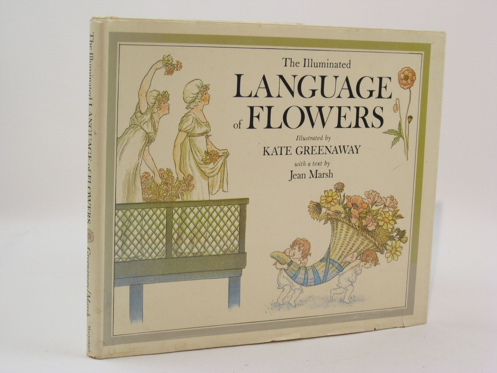 Photo of THE ILLUMINATED LANGUAGE OF FLOWERS written by Marsh, Jean illustrated by Greenaway, Kate published by Macdonald and Jane's (STOCK CODE: 1507625)  for sale by Stella & Rose's Books