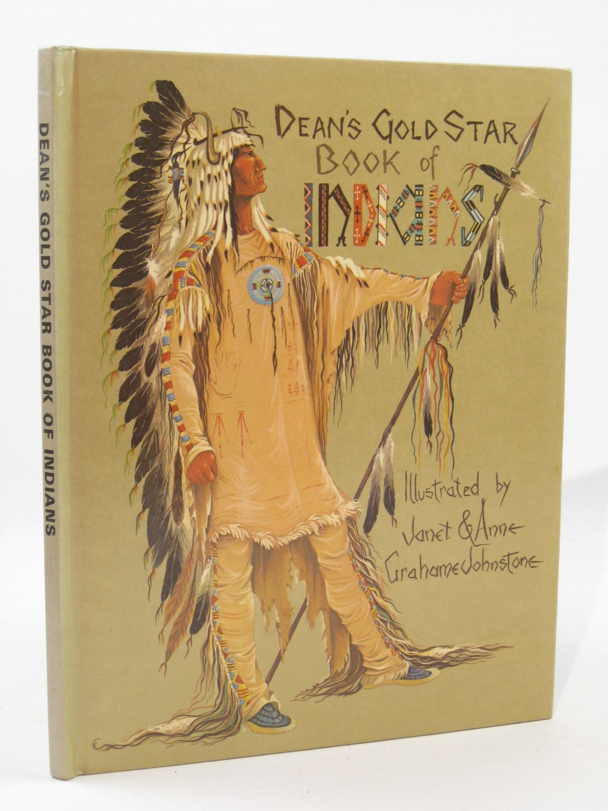 Photo of DEAN'S GOLD STAR BOOK OF INDIANS written by Johnstone, Anne Grahame<br />Johnstone, Janet Grahame illustrated by Johnstone, Anne Grahame<br />Johnstone, Janet Grahame published by Dean & Son Ltd. (STOCK CODE: 1507634)  for sale by Stella & Rose's Books