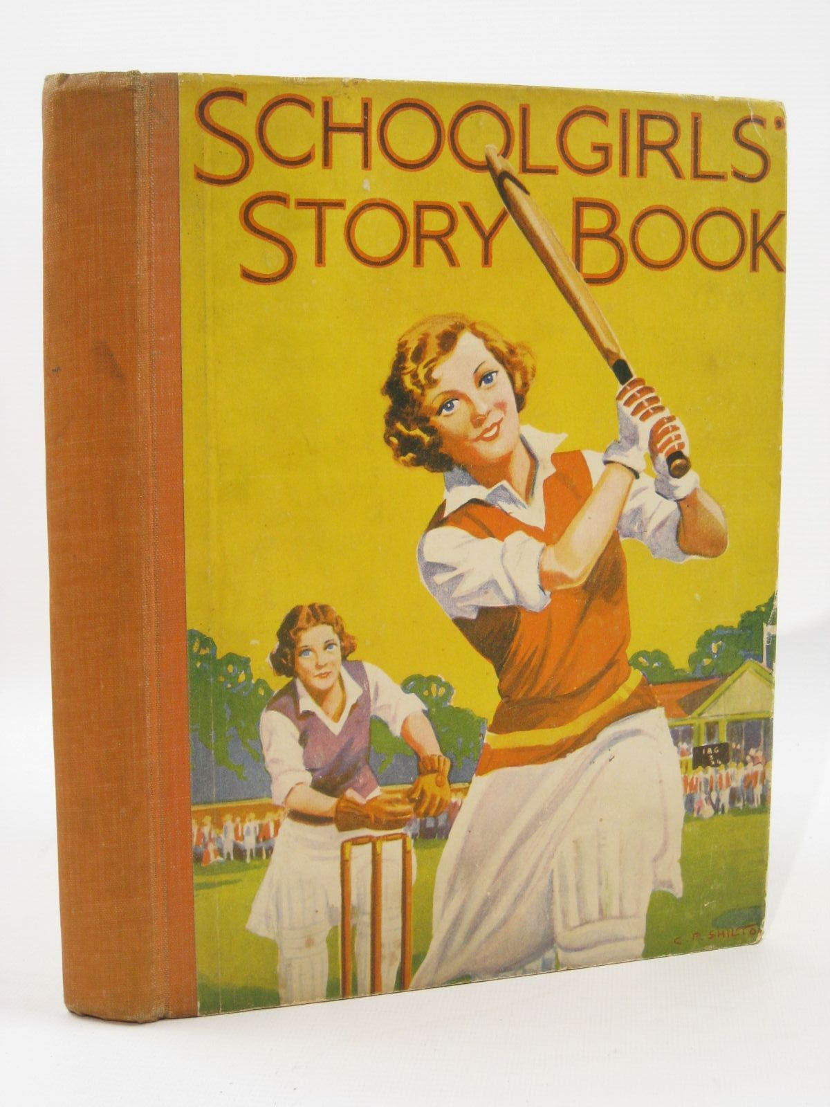 Photo of SCHOOLGIRLS' STORY BOOK written by Lloyd, Joanna<br />Elder, Josephine<br />Vivian, Mary<br />Carr, Emmaline<br />Murrell, Shirley illustrated by Gill, Muriel<br />Insall, Frank<br />Lumley, Savile<br />et al., published by The New Century Press (STOCK CODE: 1507662)  for sale by Stella & Rose's Books