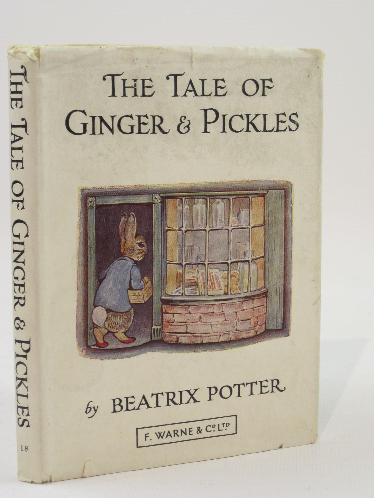 Photo of THE TALE OF GINGER & PICKLES written by Potter, Beatrix illustrated by Potter, Beatrix published by Frederick Warne & Co Ltd. (STOCK CODE: 1507687)  for sale by Stella & Rose's Books