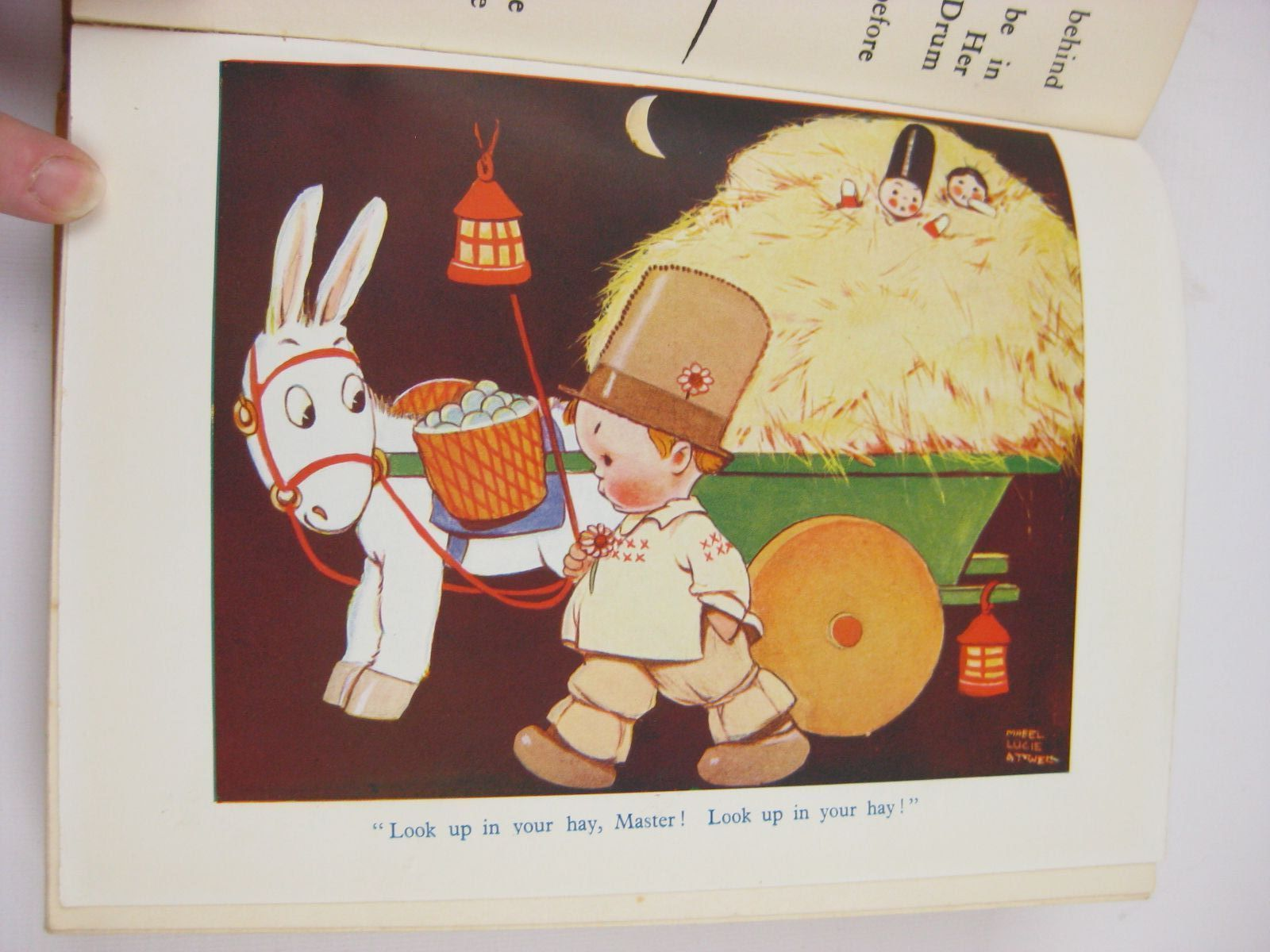 Photo of LUCIE ATTWELL'S CHILDREN'S BOOK written by Attwell, Mabel Lucie<br />Weatherly, Christine<br />Herbertson, Agnes Grozier<br />Lea, John<br />et al, illustrated by Attwell, Mabel Lucie published by S.W. Partridge & Co. (STOCK CODE: 1507693)  for sale by Stella & Rose's Books