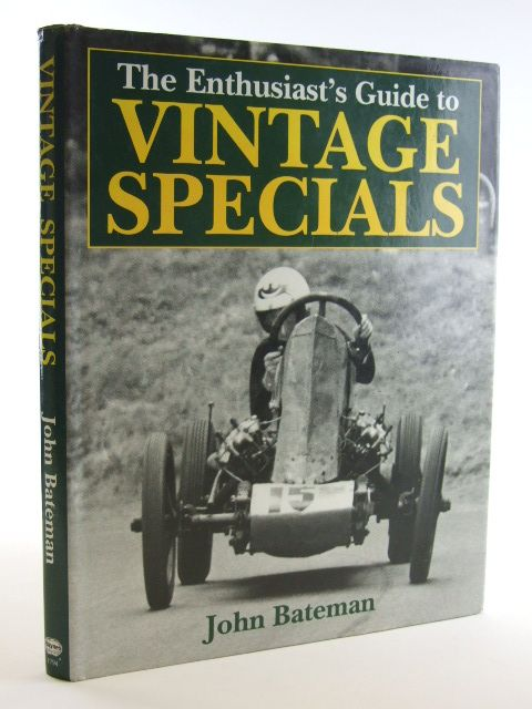 Photo of THE ENTHUSIAST'S GUIDE TO VINTAGE SPECIALS written by Bateman, John published by Haynes (STOCK CODE: 1601993)  for sale by Stella & Rose's Books