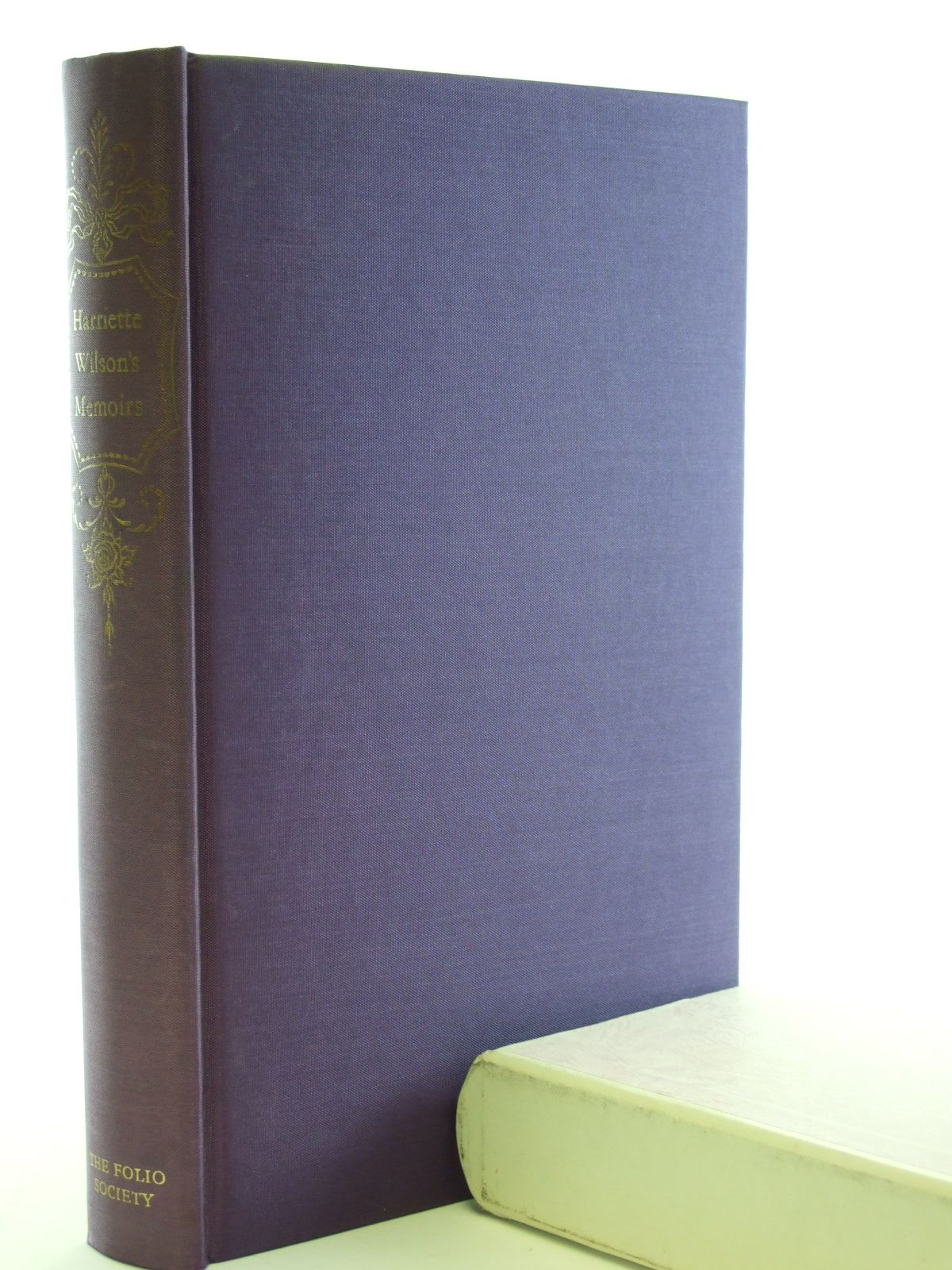 Photo of HARRIETTE WILSON'S MEMOIRS written by Wilson, Harriette published by Folio Society (STOCK CODE: 1602596)  for sale by Stella & Rose's Books
