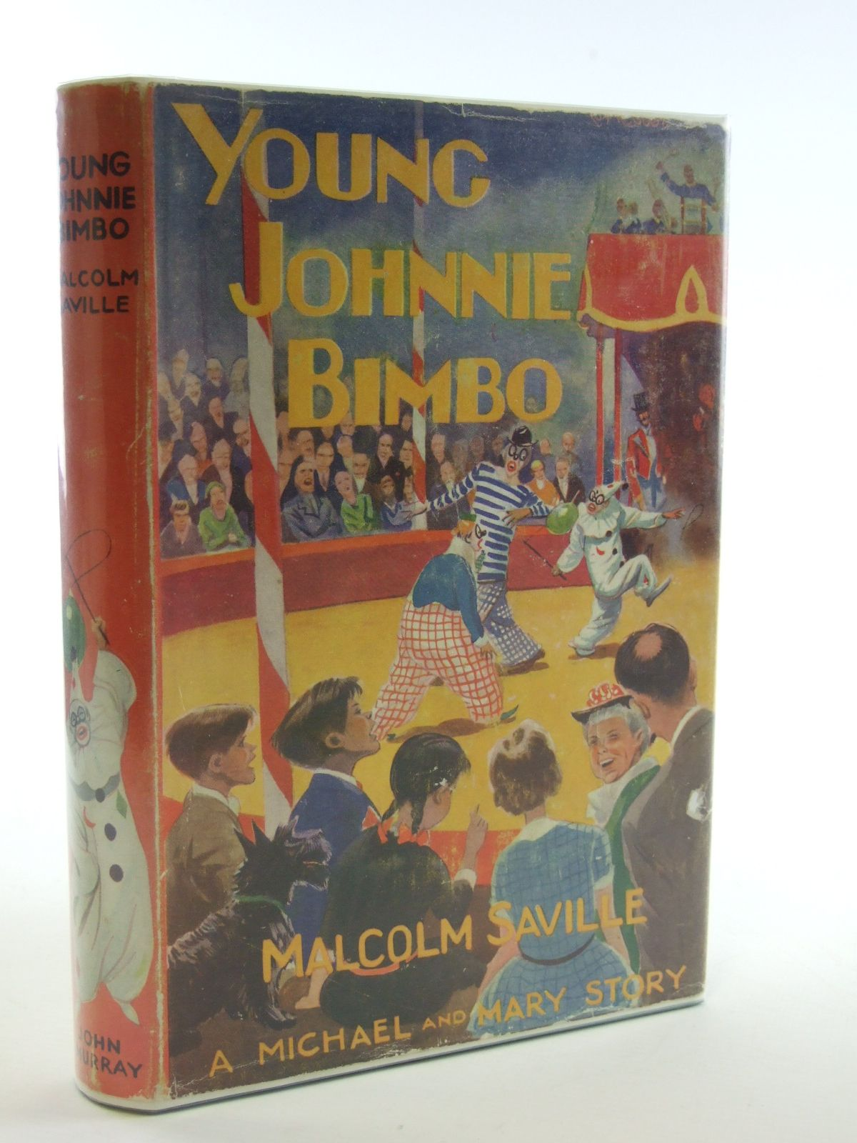 Photo of YOUNG JOHNNIE BIMBO written by Saville, Malcolm illustrated by Roberts, Lunt published by John Murray (STOCK CODE: 1602603)  for sale by Stella & Rose's Books