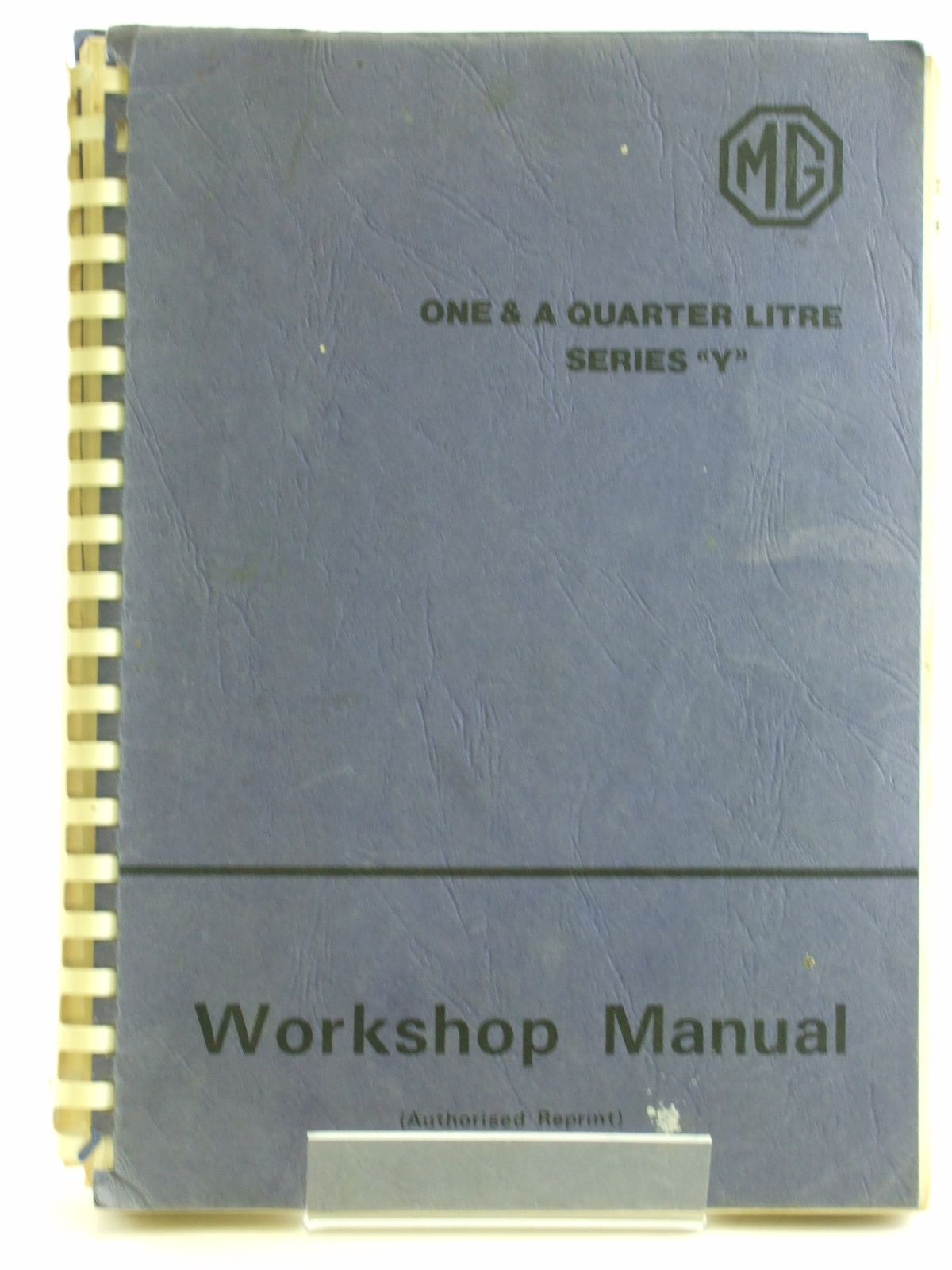 Photo of THE MAINTENANCE MANUAL AND INSTRUCTION BOOK FOR THE M.G. ONE AND A QUARTER LITRE (SERIES 'Y') published by The M.G. Car Company (STOCK CODE: 1602715)  for sale by Stella & Rose's Books