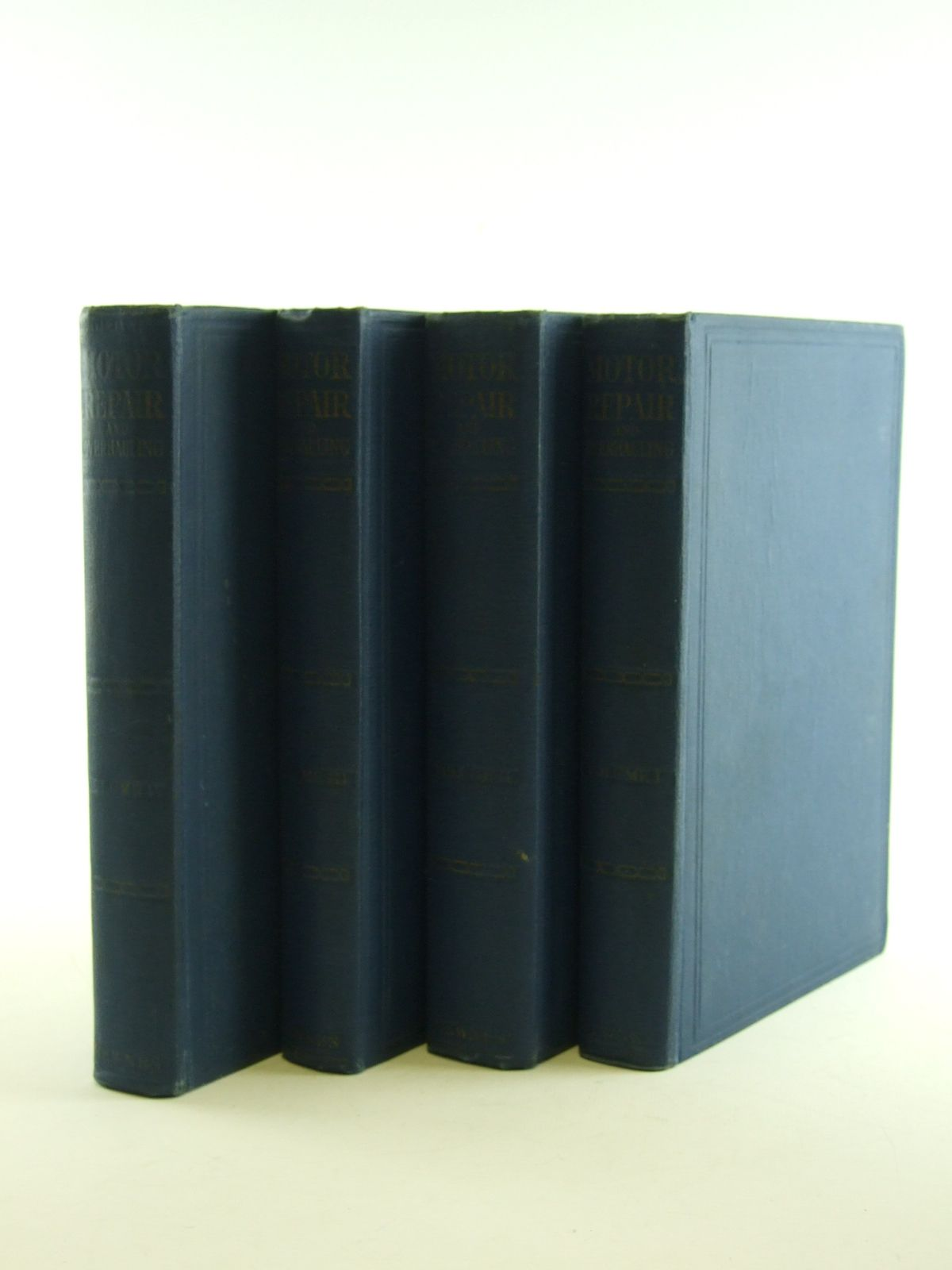 Photo of MOTOR REPAIR AND OVERHAULING 4 VOLUMES written by Molloy, E. published by George Newnes Ltd. (STOCK CODE: 1602745)  for sale by Stella & Rose's Books