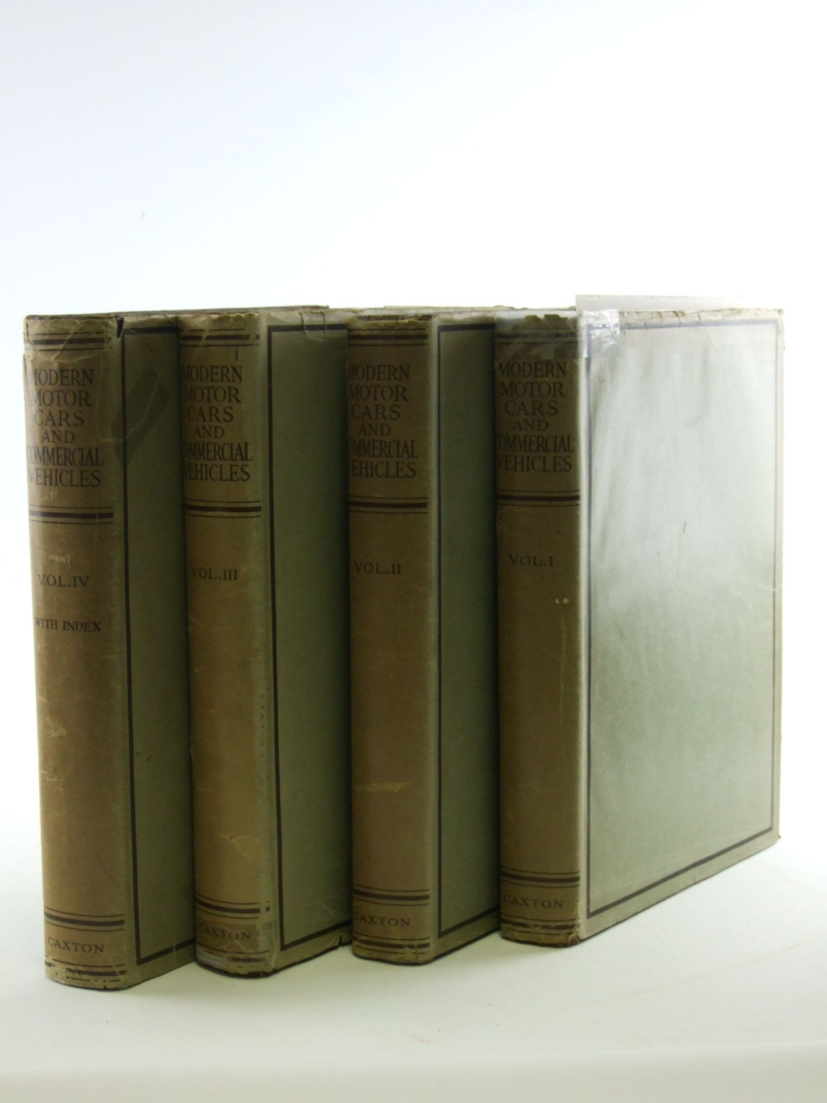 Photo of MODERN MOTOR CARS AND COMMERCIAL VEHICLES (4 VOLUMES) written by Judge, Arthur W. published by The Caxton Publishing Company Ltd. (STOCK CODE: 1602791)  for sale by Stella & Rose's Books