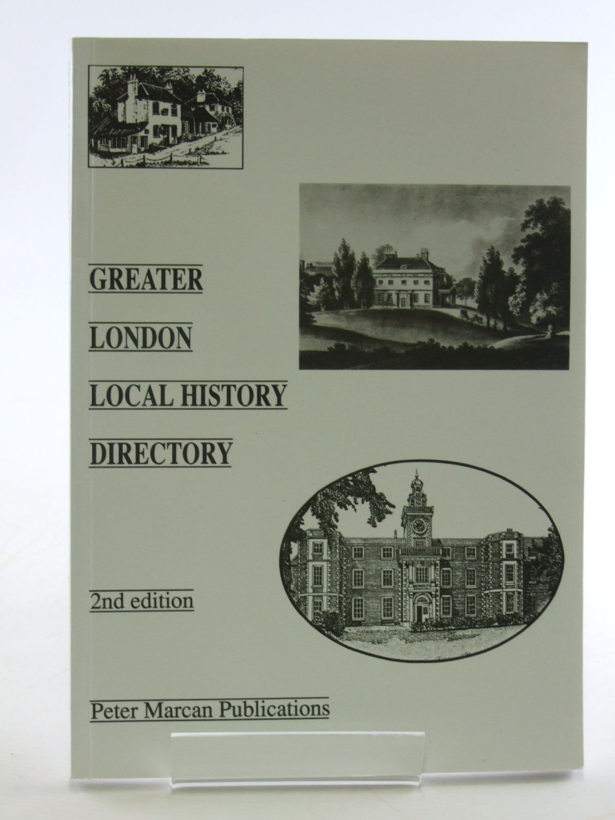 Photo of GREATER LONDON LOCAL HISTORY DIRECTORY written by Marcan, Peter published by Peter Marcan Publications (STOCK CODE: 1602889)  for sale by Stella & Rose's Books