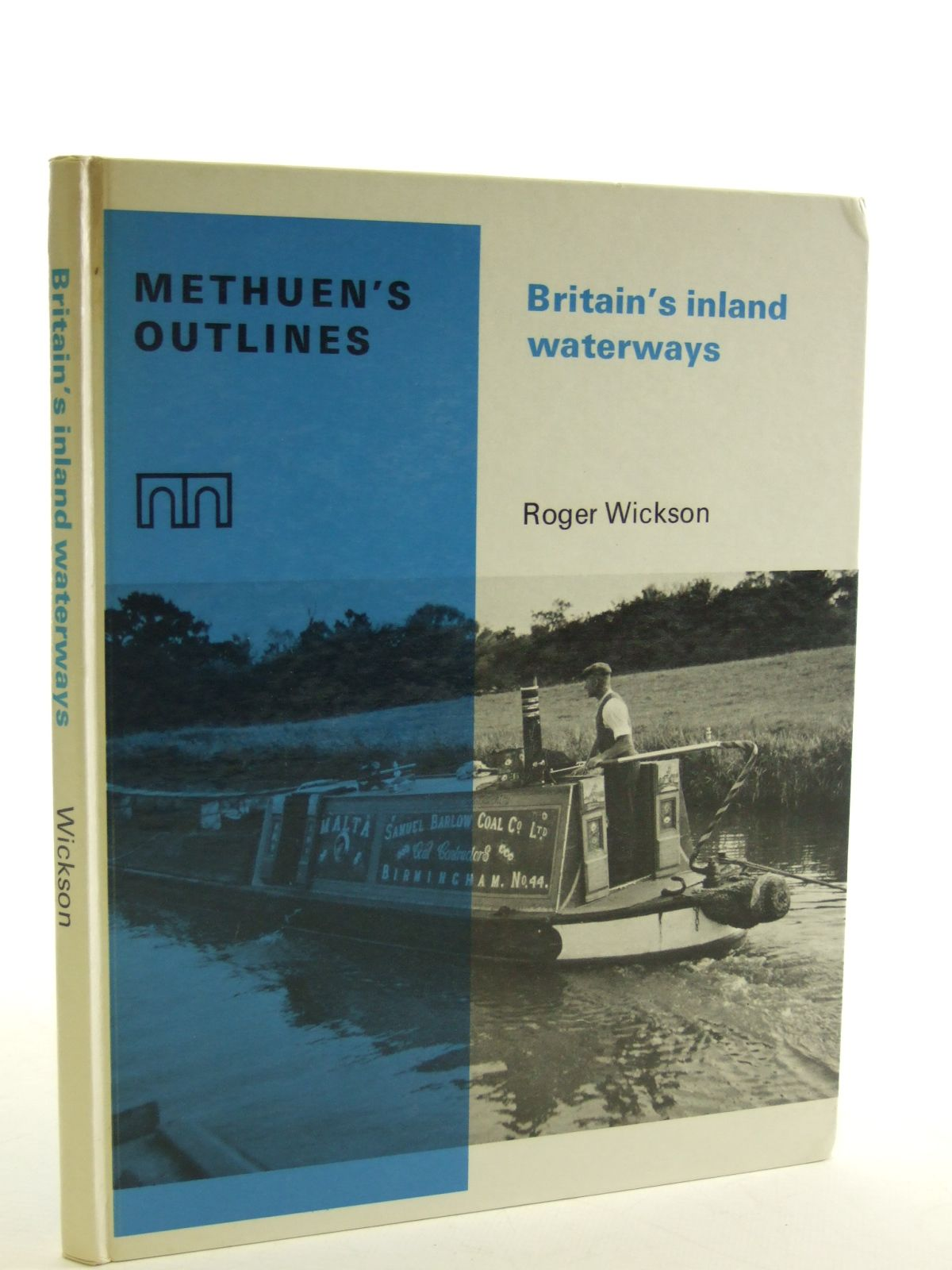 Photo of BRITAIN'S INLAND WATERWAYS written by Wickson, Roger published by Methuen & Co. Ltd. (STOCK CODE: 1603012)  for sale by Stella & Rose's Books